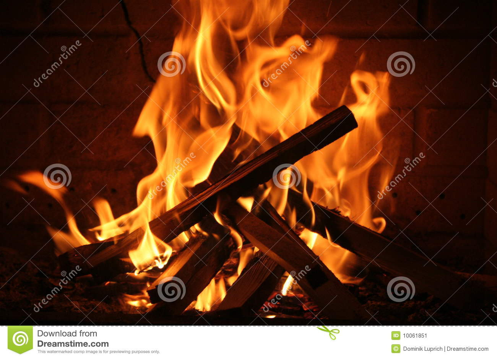 Romantisches Feuer
