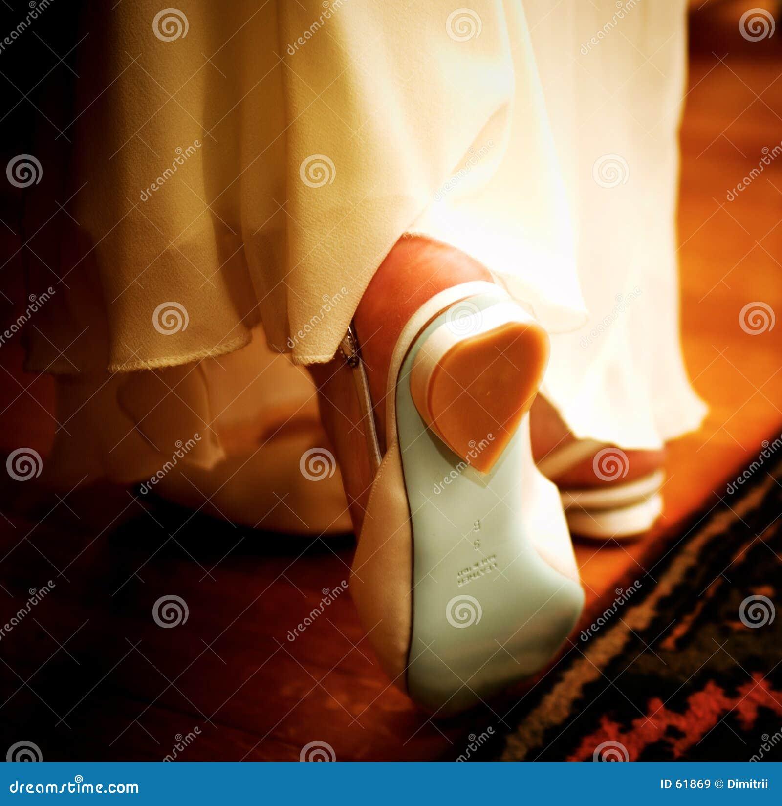 Romantiska skor