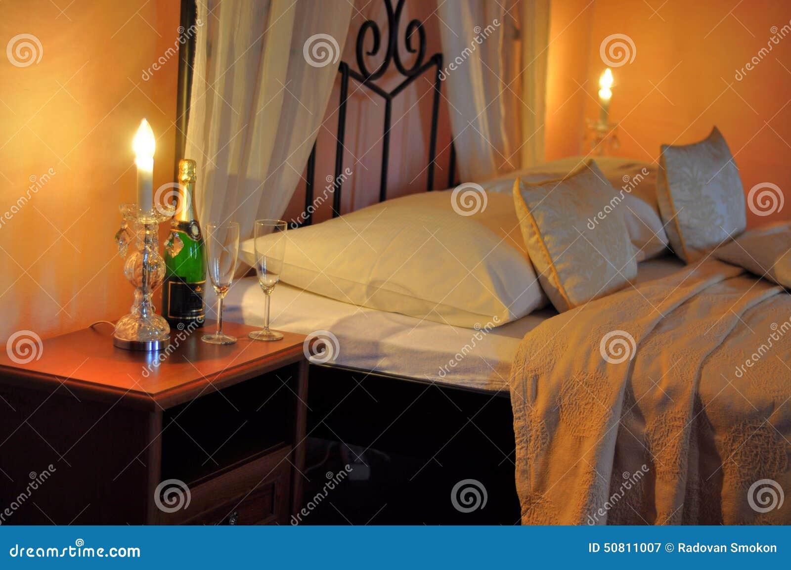 Romantyczna gość sypialnia