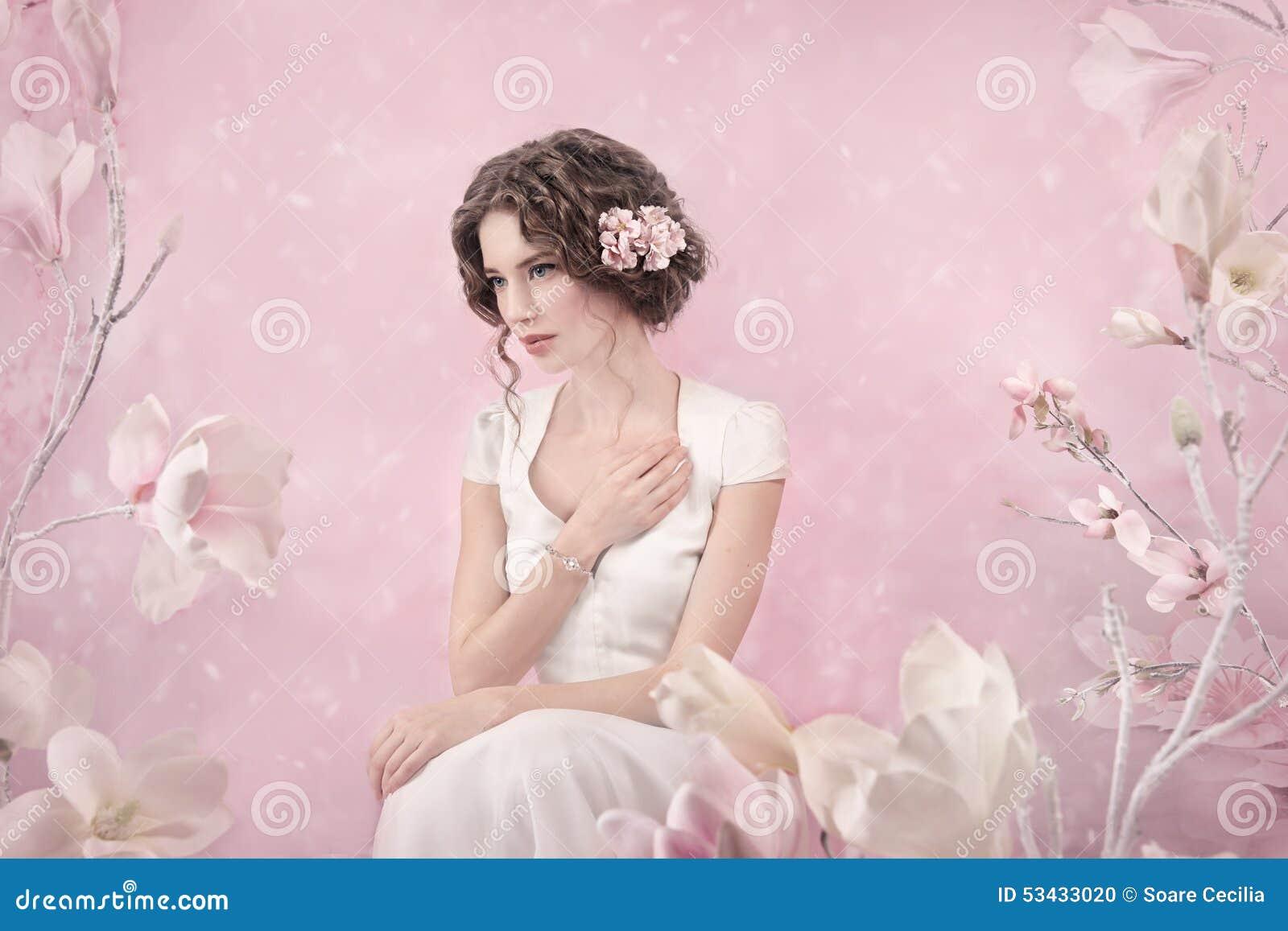 Romantyczny portret panna młoda