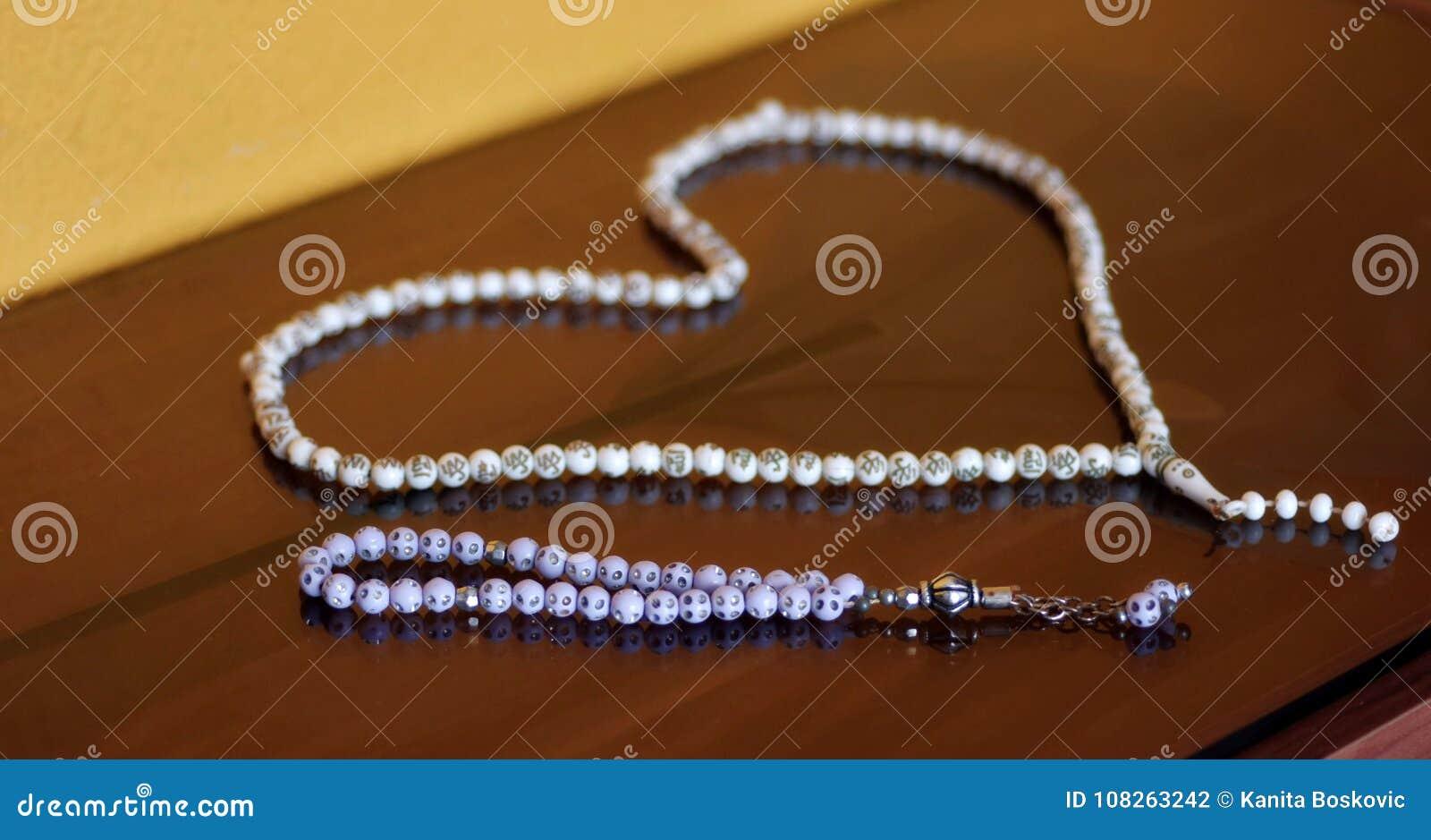 Forme Perles Prière Une D De Coeur Romarin Dans Islamique l1JK3FcT