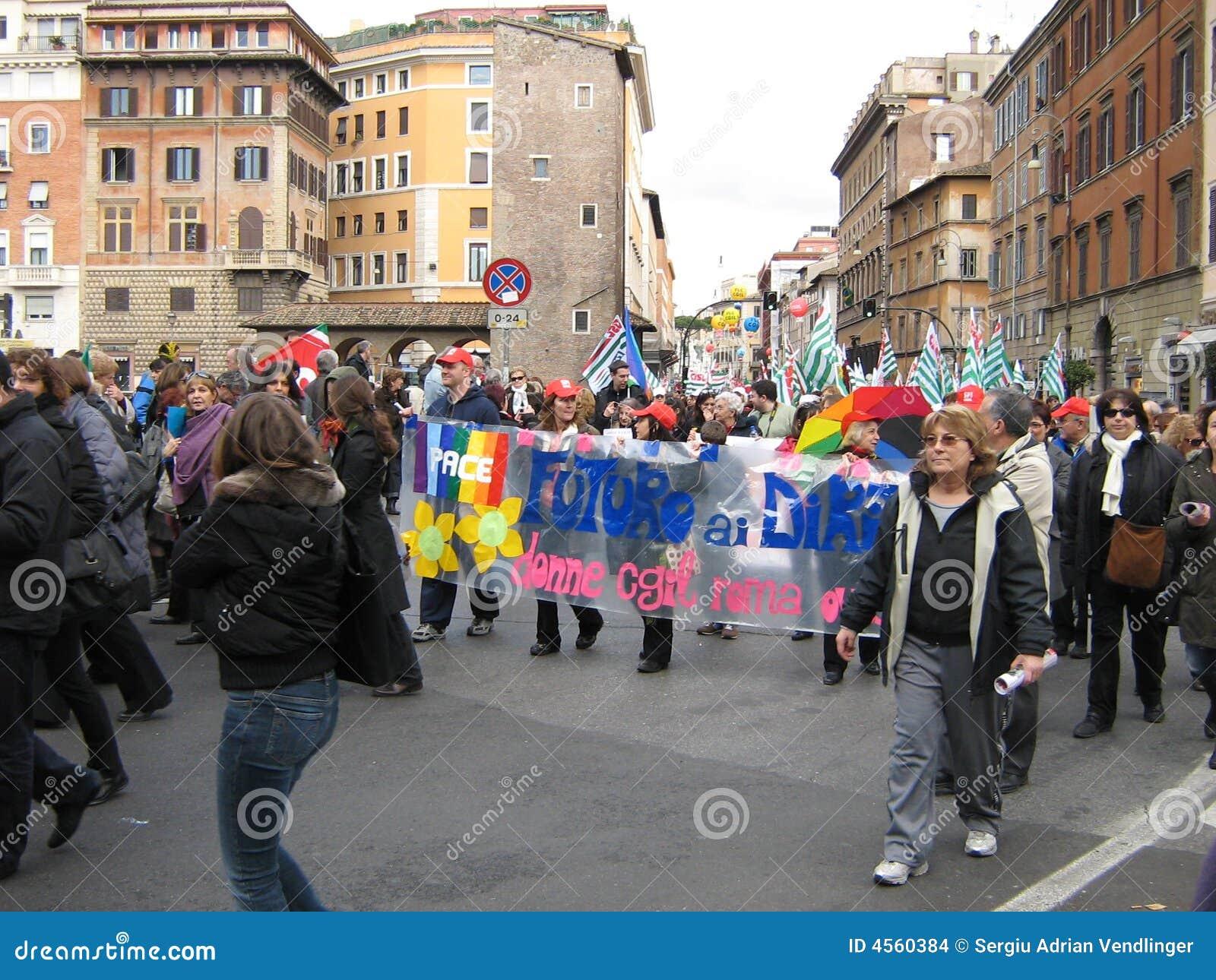 Rome, événement social