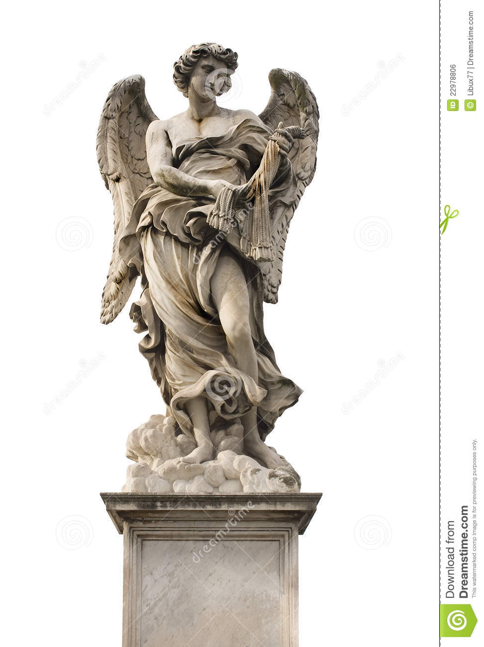 Angel Statue Rome Stock Photo Image Of Angel Artistic