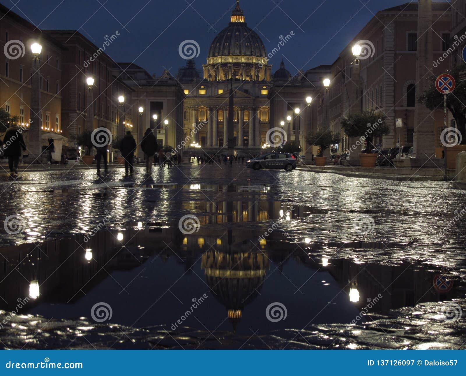 Rome den St Peter basilikan