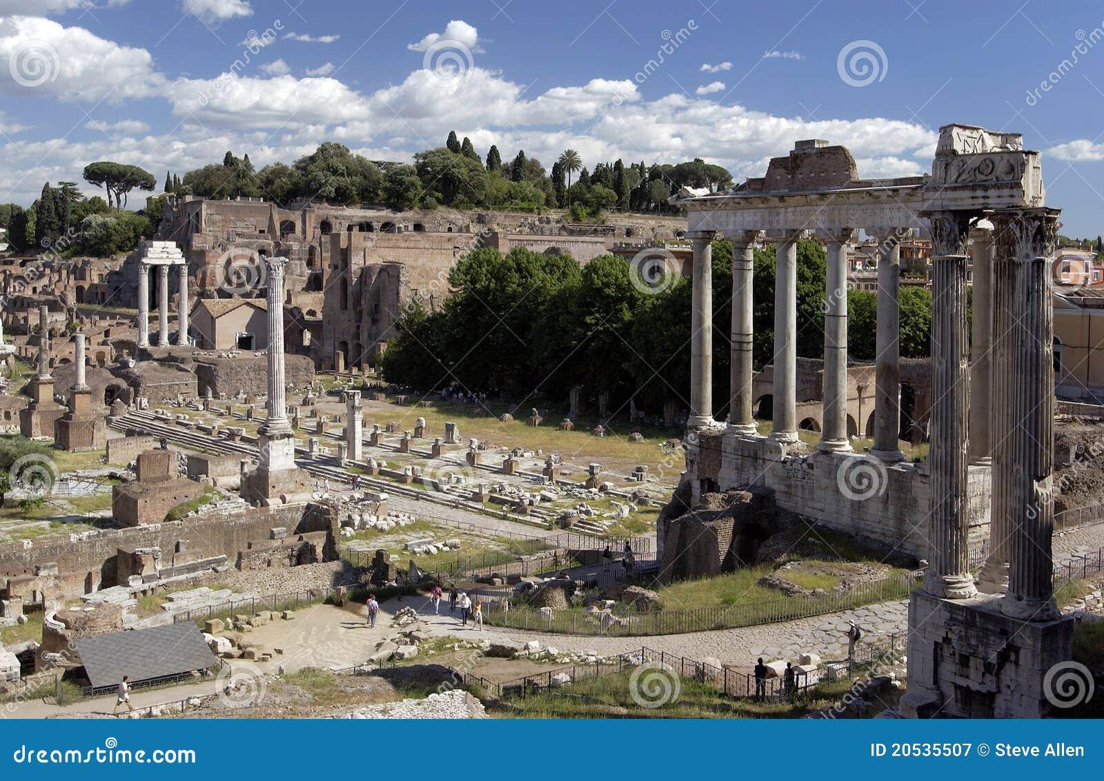 Rome - forum romain - l Italie