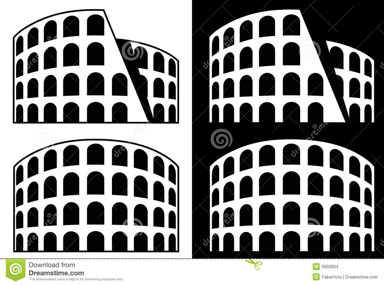 Rome Icons Royalty Free Stock Images - Image: 35385529