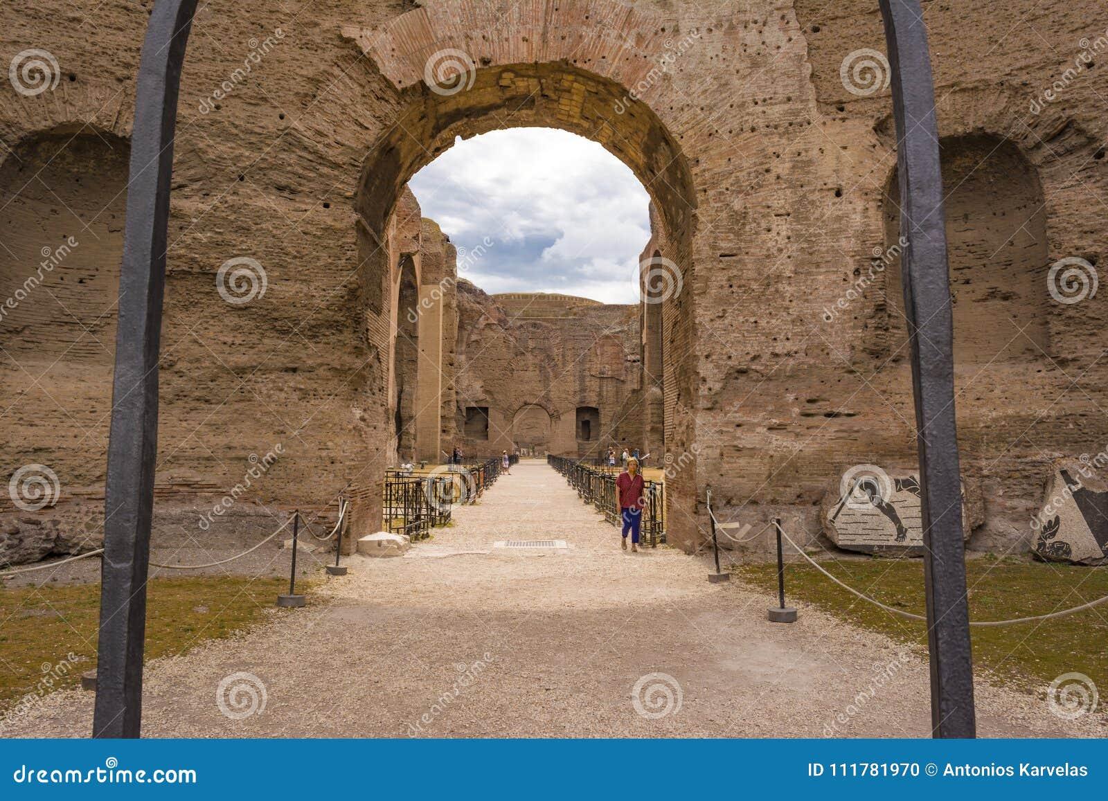 Ruins of the Baths of Caracalla - Terme di Caracalla