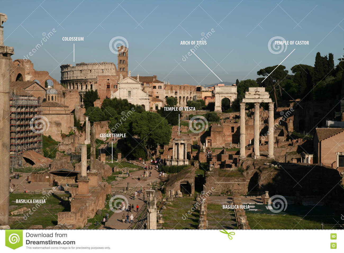 Rome map editorial image illustration of historic square 73415635 rome map gumiabroncs Images
