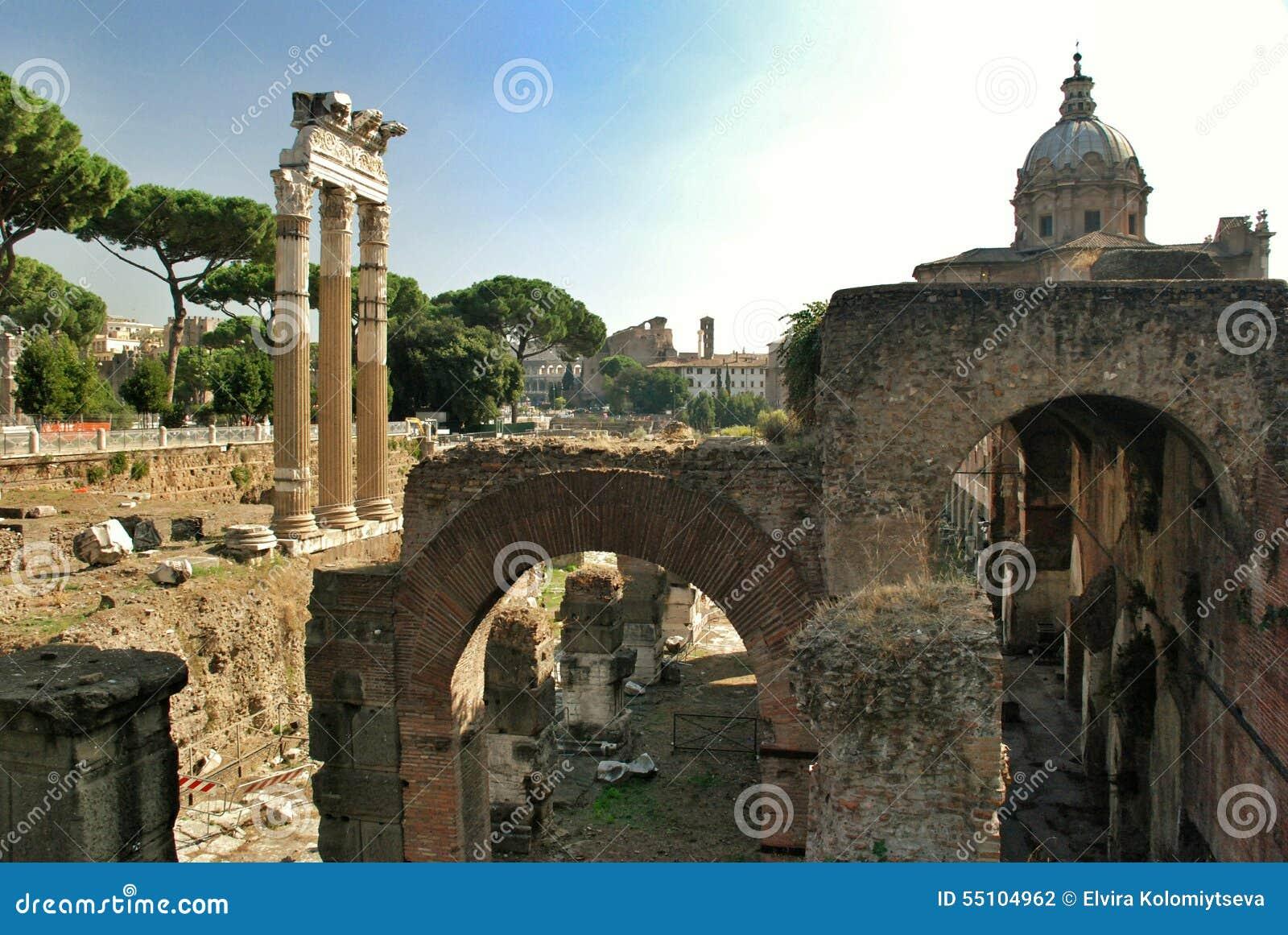 Rome, Palatine  Circus Maximus Editorial Photography - Image of