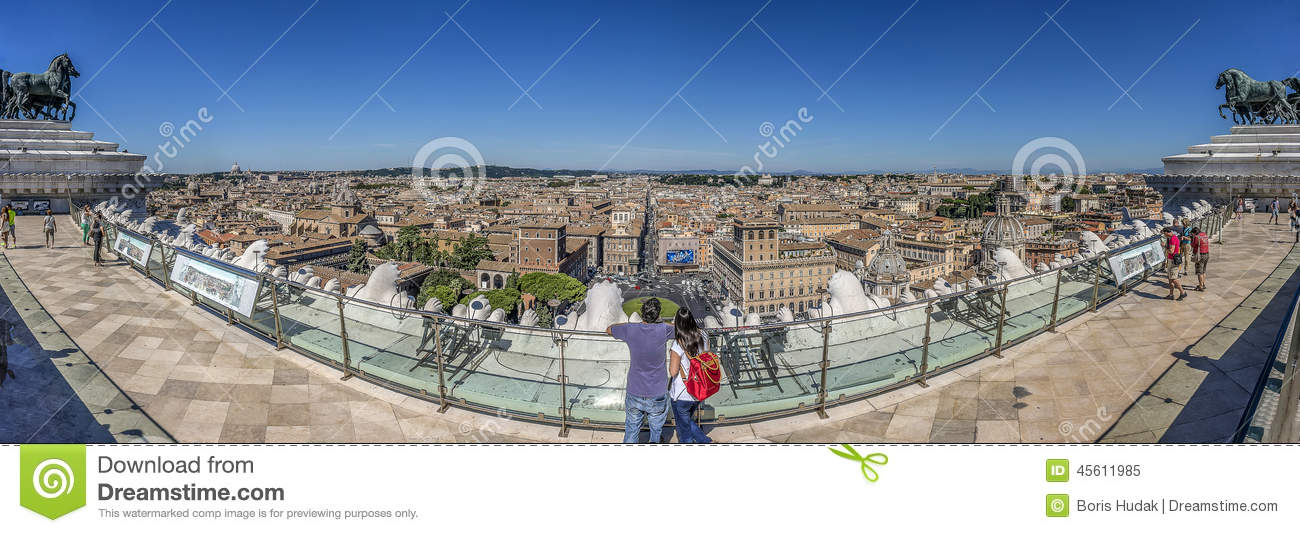 what is the wedding cake building in rome rome panorma editorial image image 45611985 27071