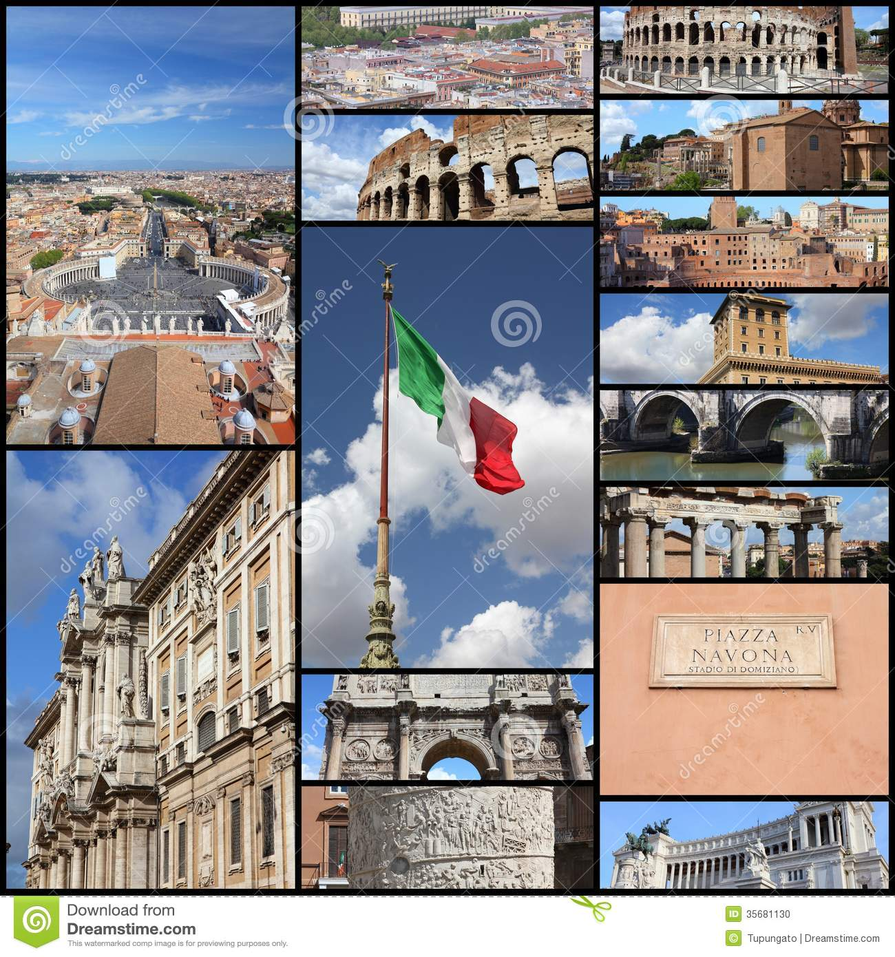 picture frame rome italy - photo#25