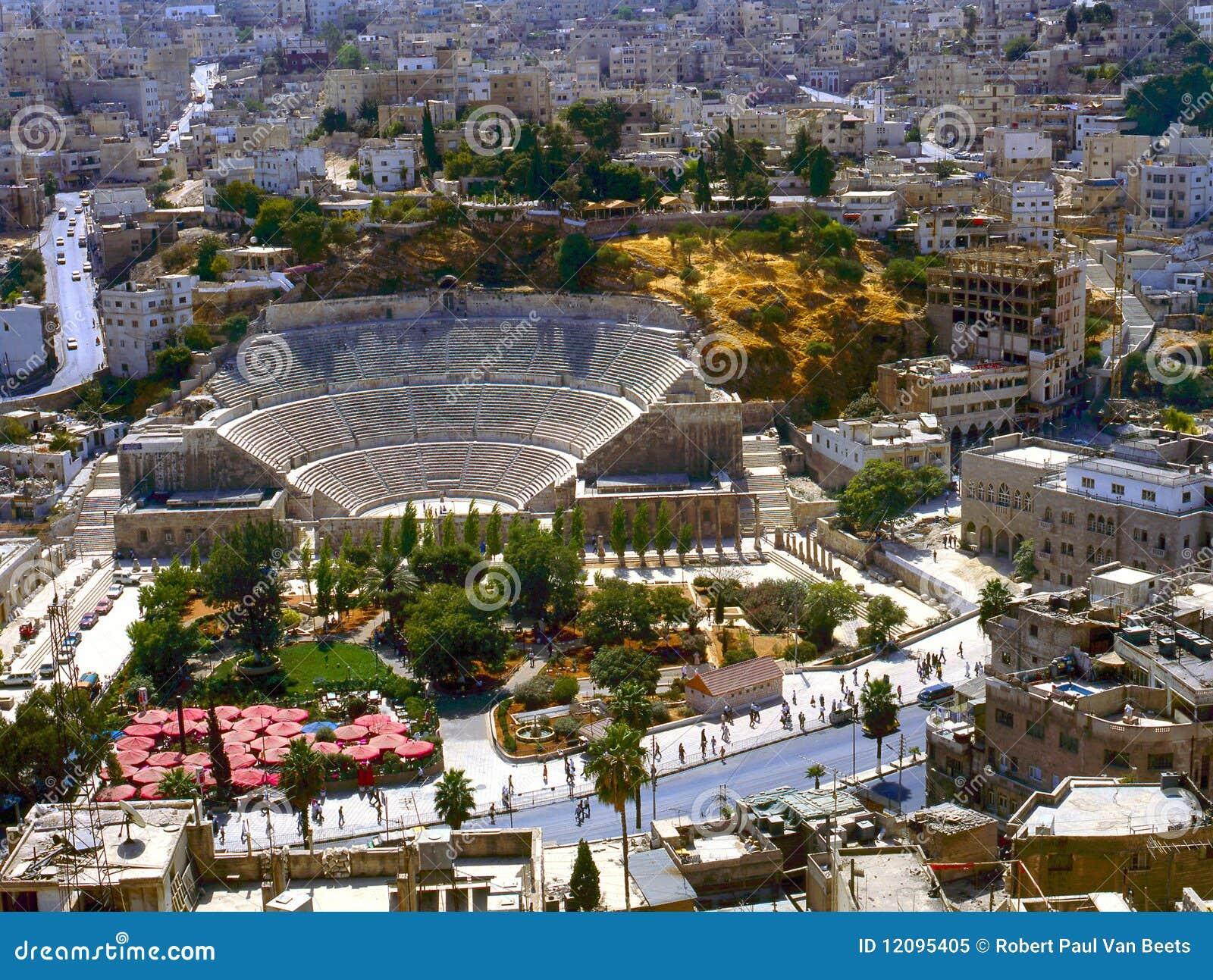 Romein amphitheatre in Amman