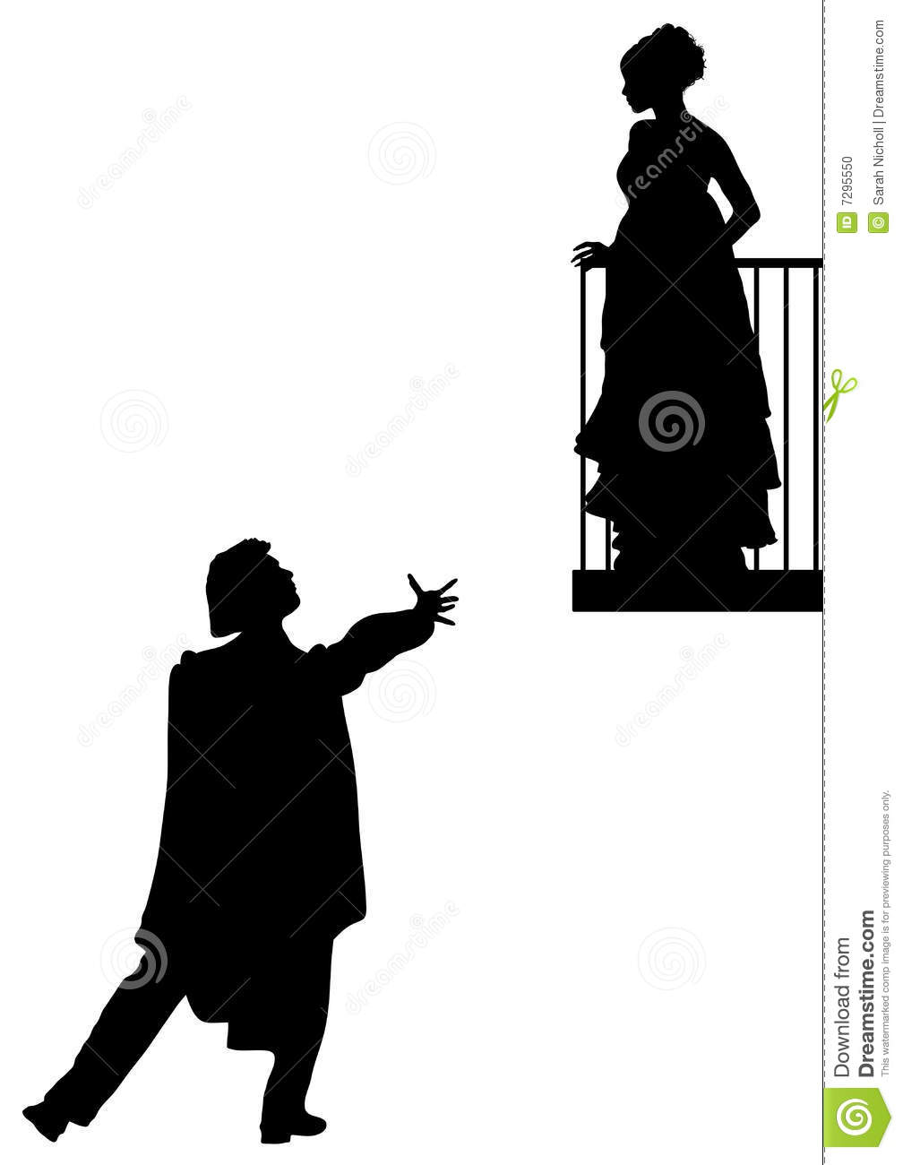 Romeo And Juliet Stock Photo - Image: 7295550