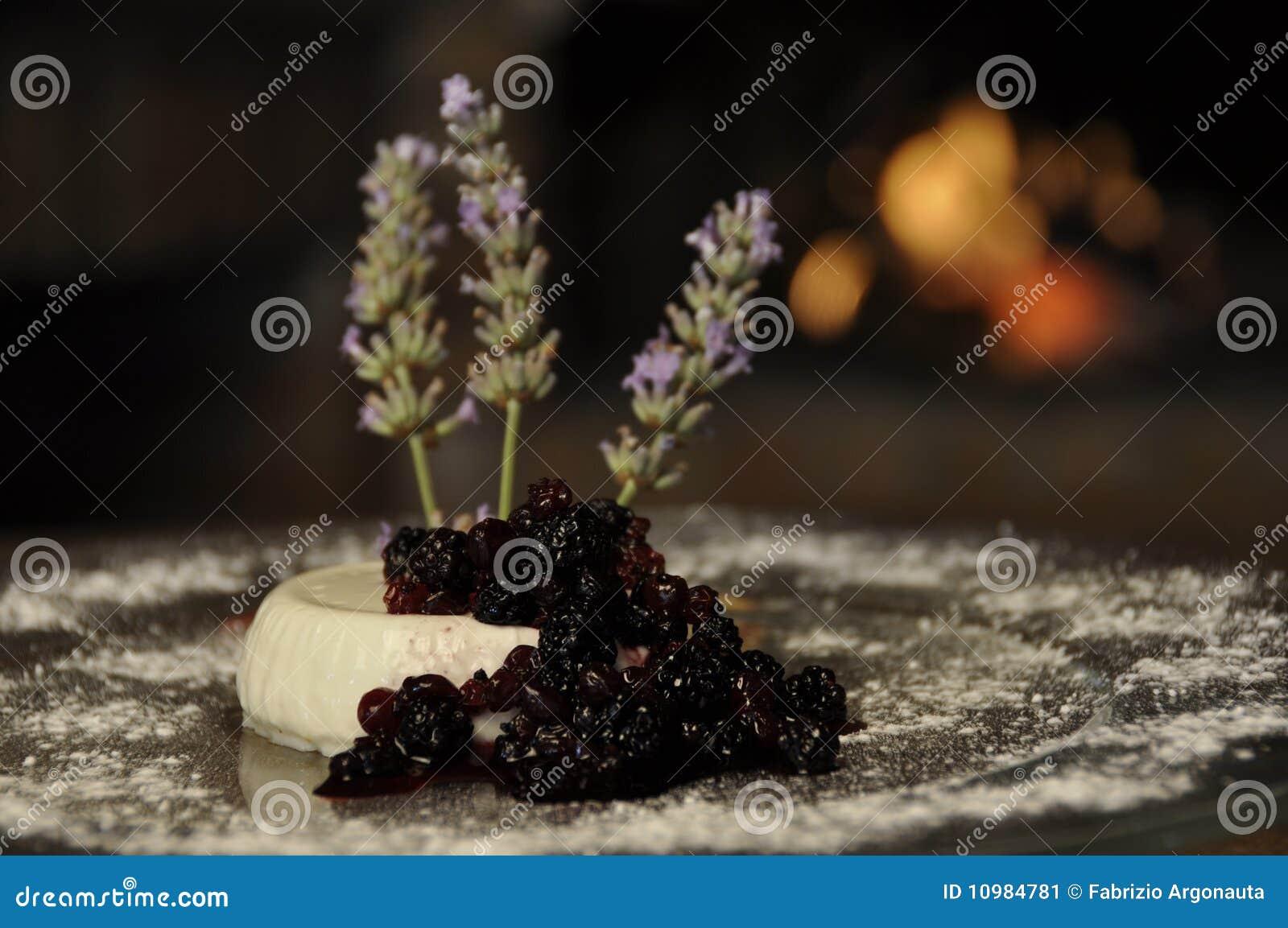 Romig dessert