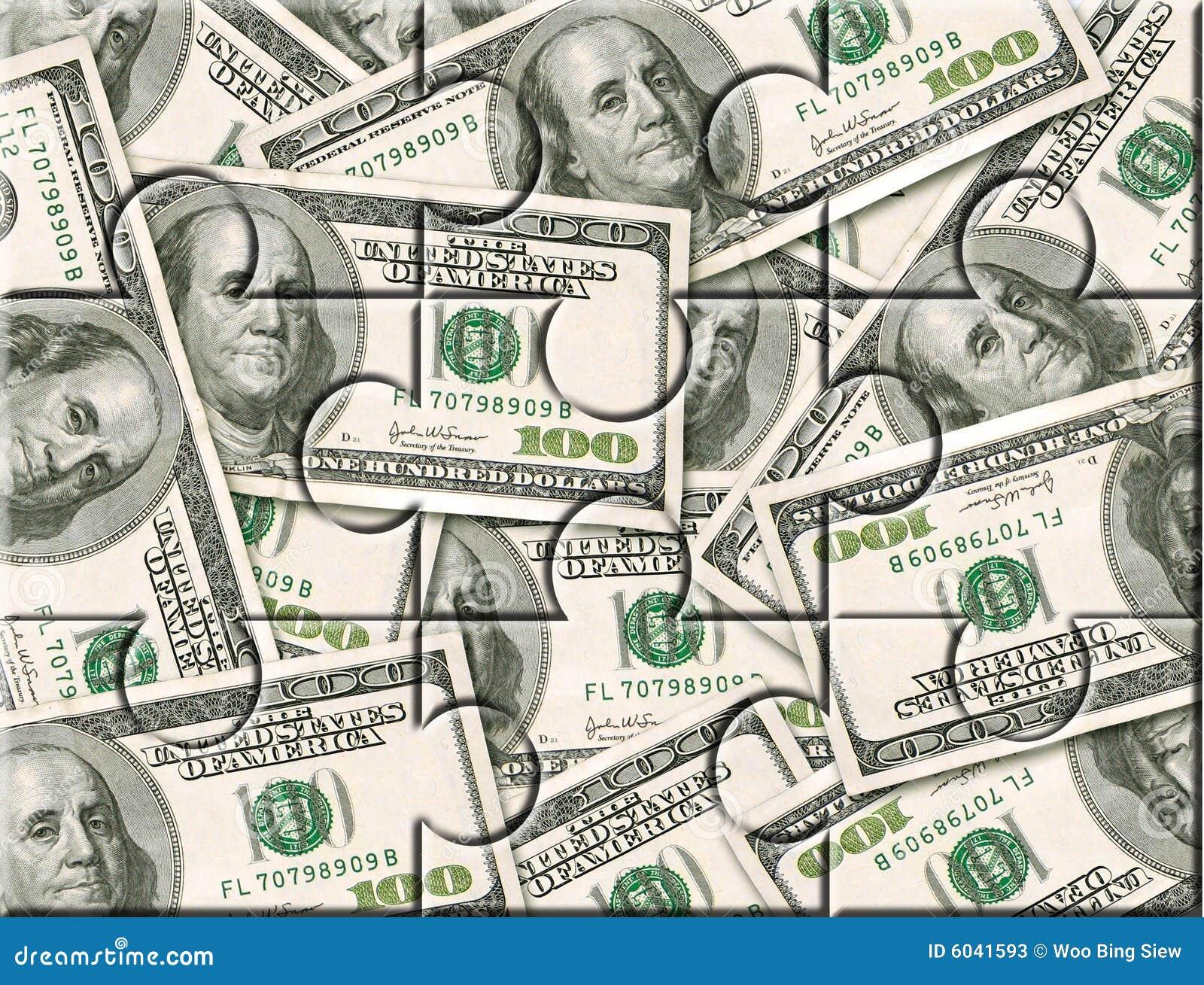 Rompecabezas de la inversión del dinero