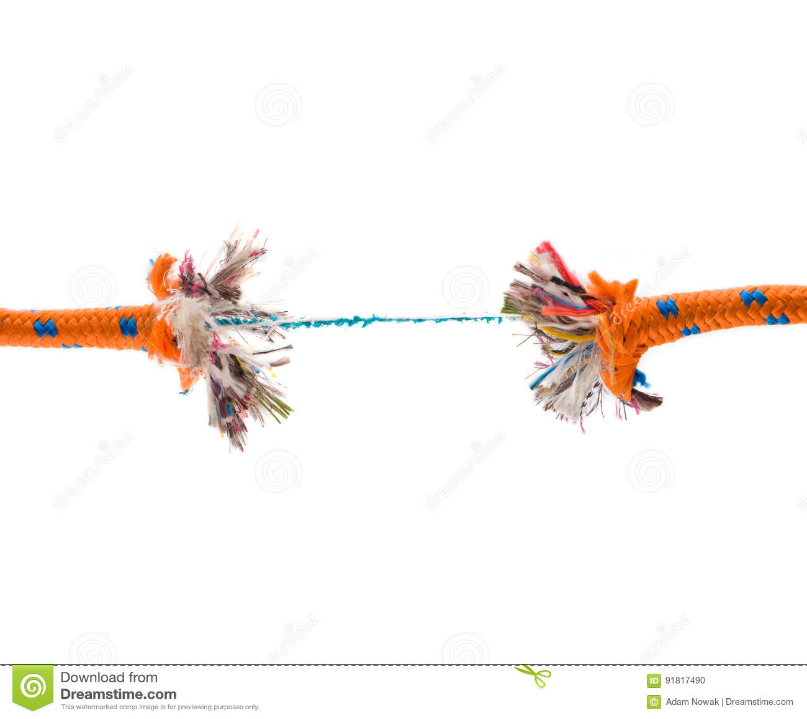 Rompiendo la cuerda - riesgo