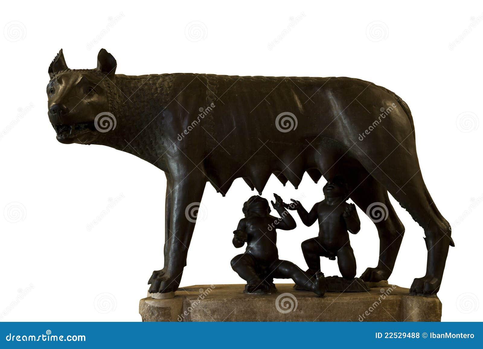 Romulus And Remus Rome Symbol Royalty Free Stock Photos Image 22529488