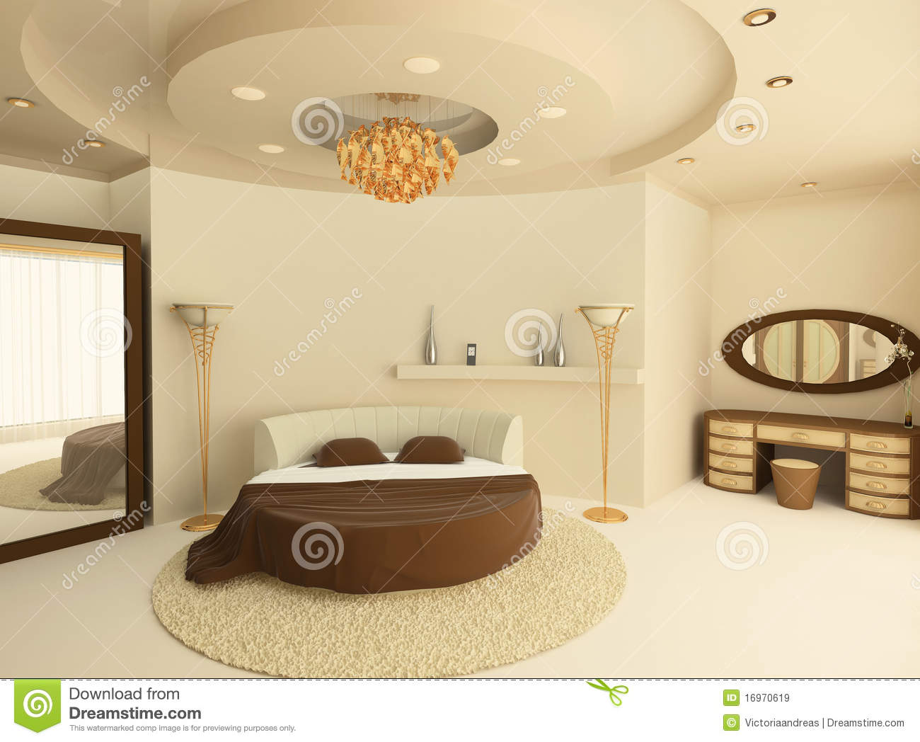 Slaapkamer Rond Bed : Bed Suspended From Ceiling