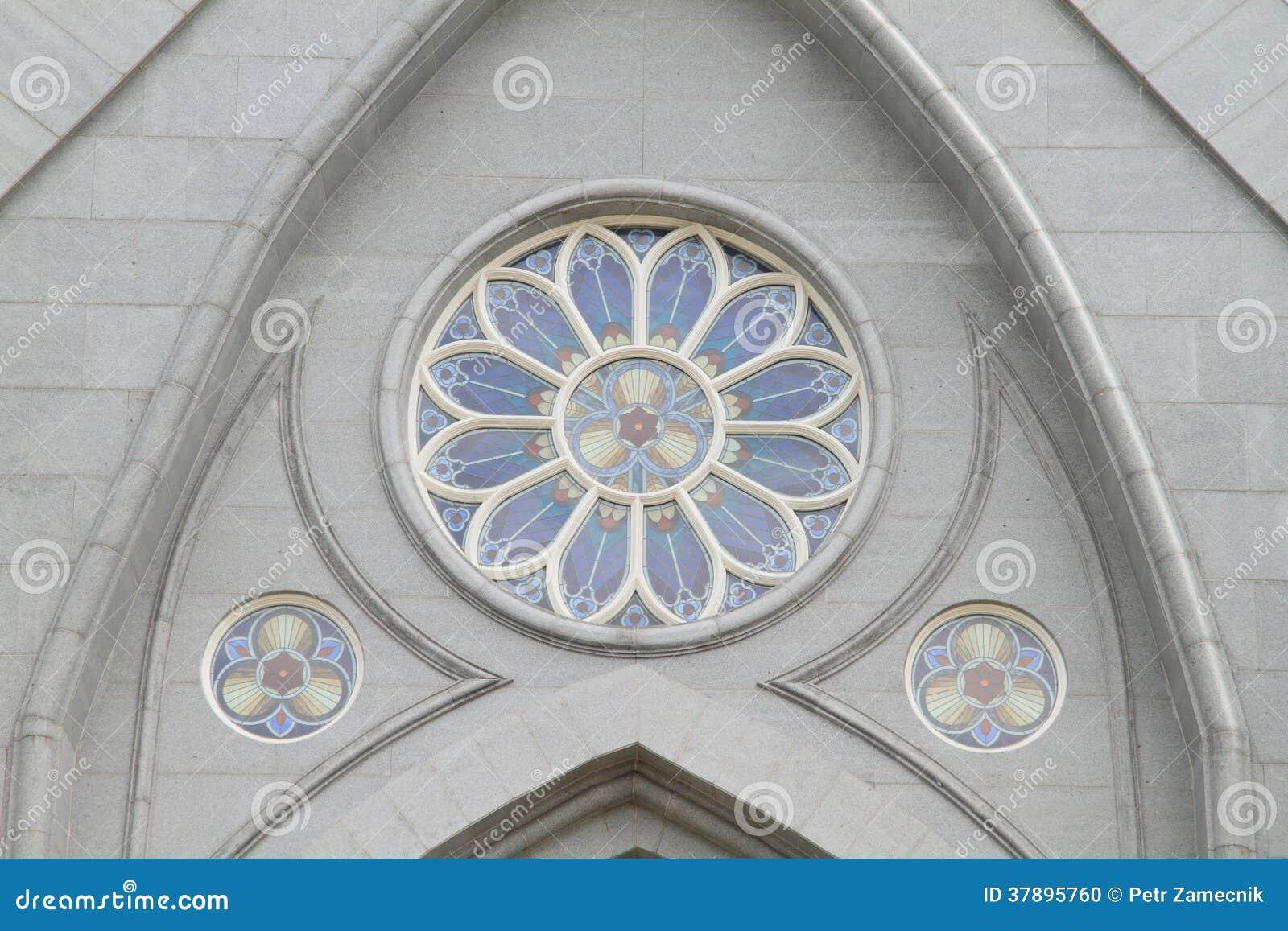 Rond venster