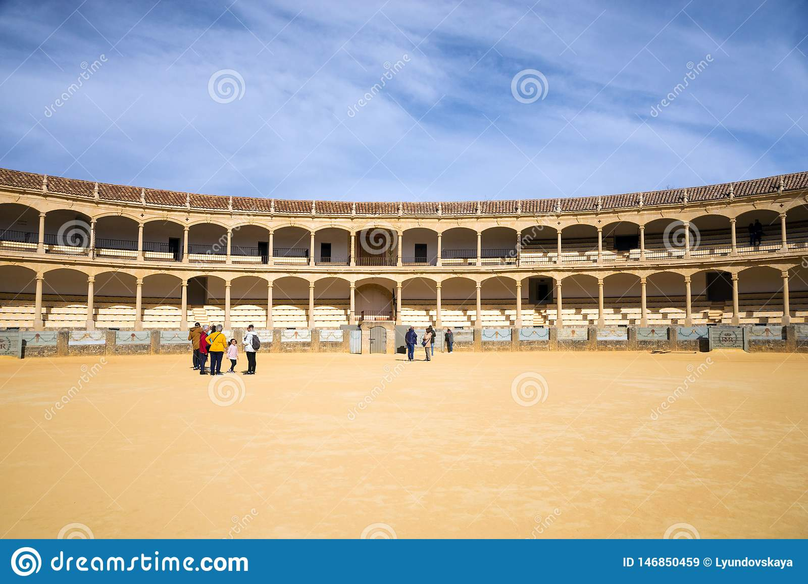 The Largest And Most Famous Spanish Bullring Is The Plaza De Toros