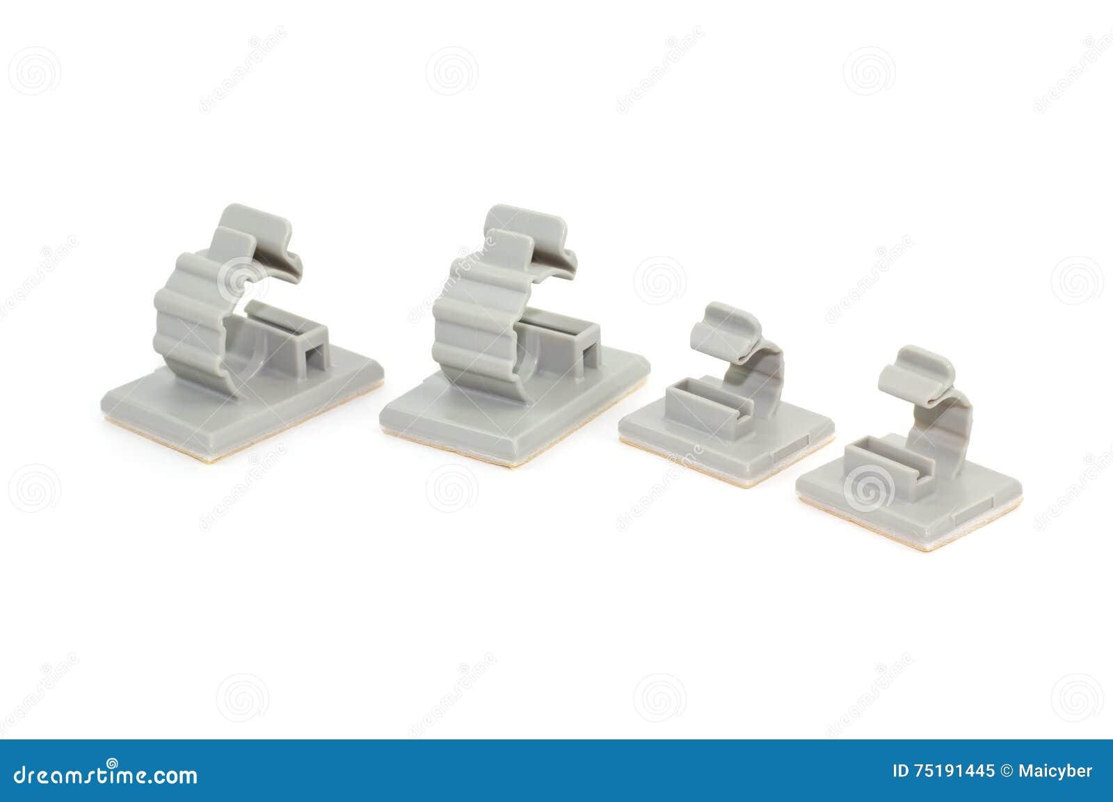 Ronde Releasable Kabelklemmen Stock Afbeelding - Afbeelding ...