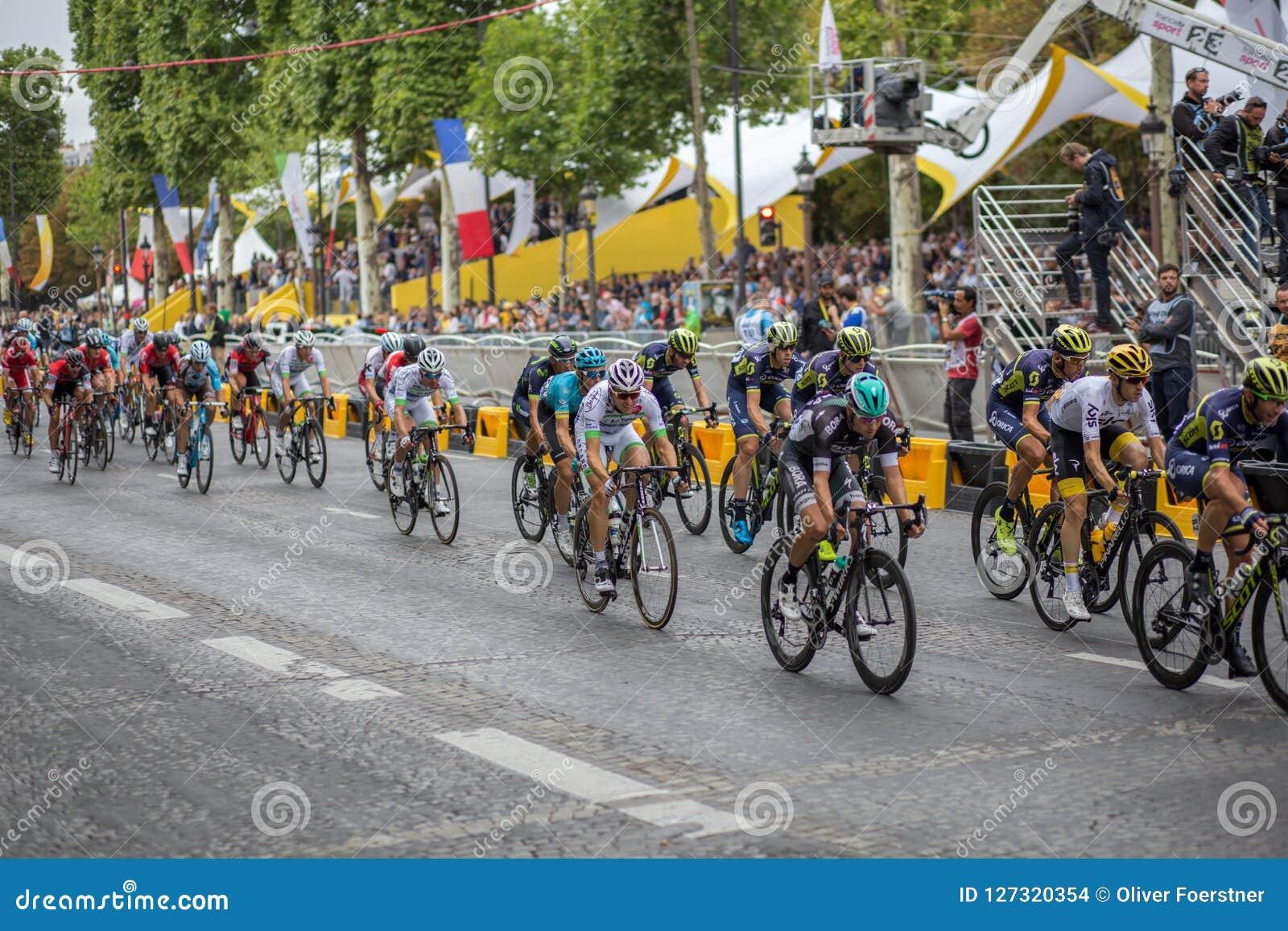 Ronde van Frankrijk 2017 champs-Elysees