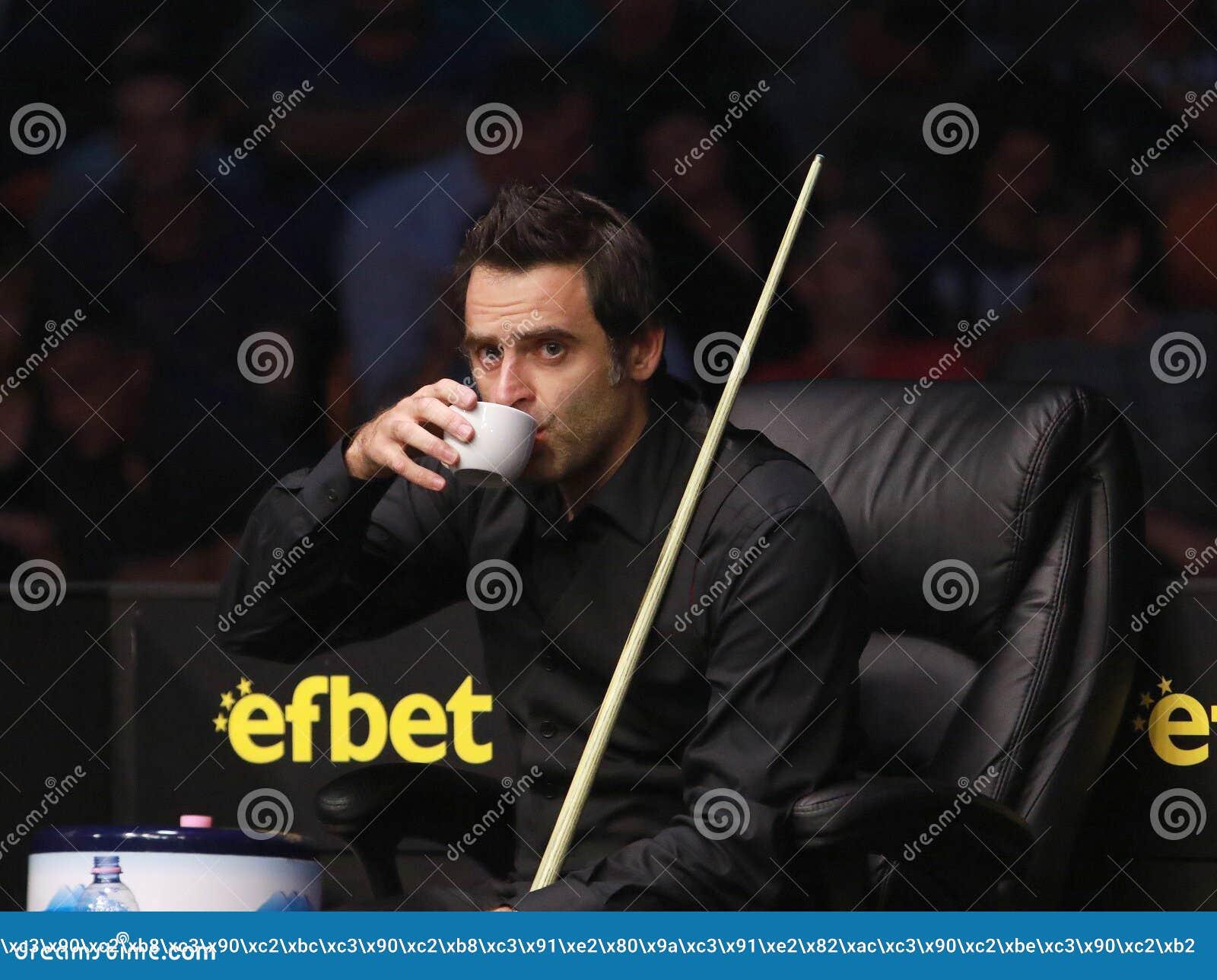Ronnie Oâ €™Sullivan partecipa alla manifestazione dello snooker le undici 30 serie 2016