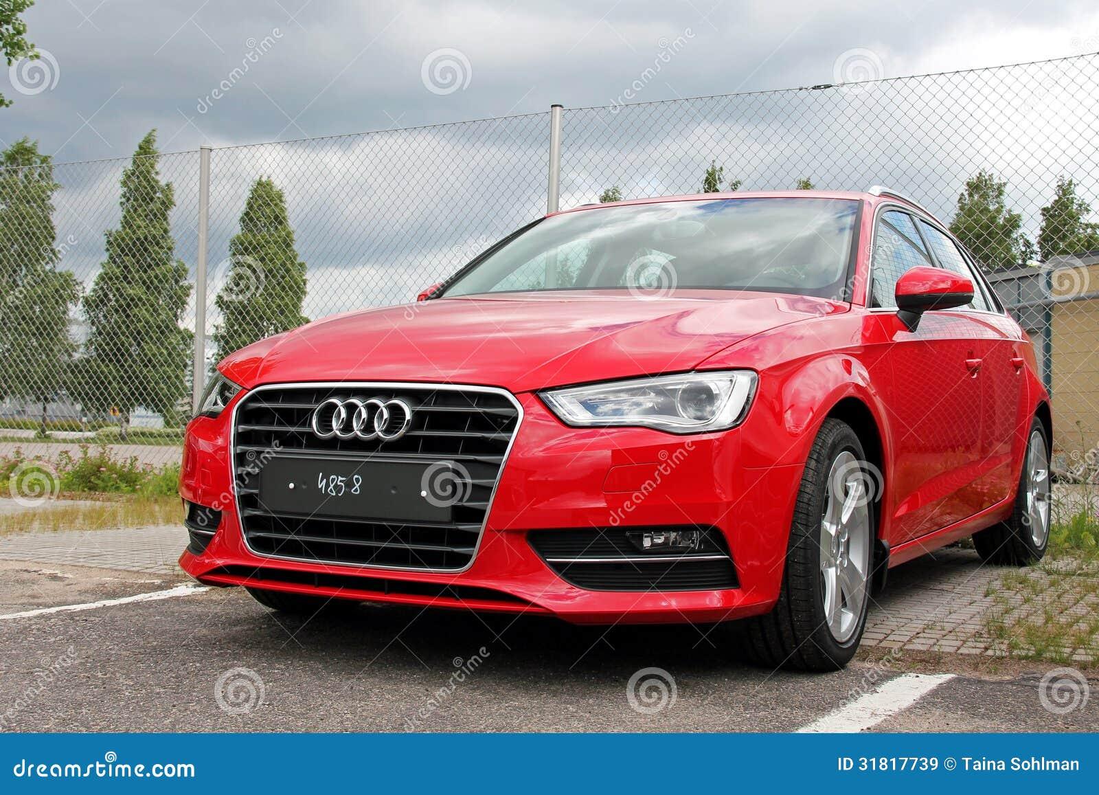 Rood Audi A3
