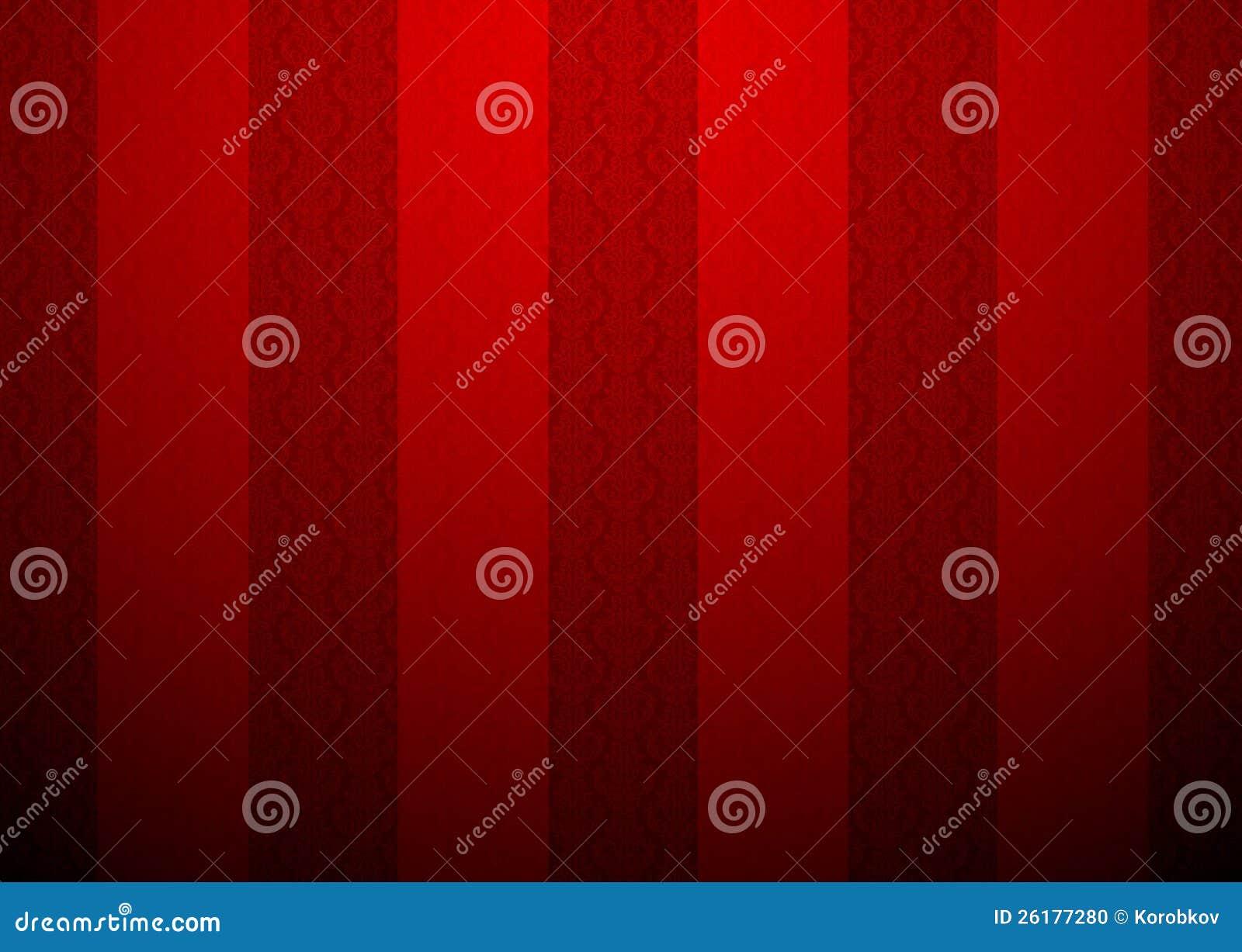 rood behang met een klein patroon stock foto afbeelding 26177280. Black Bedroom Furniture Sets. Home Design Ideas