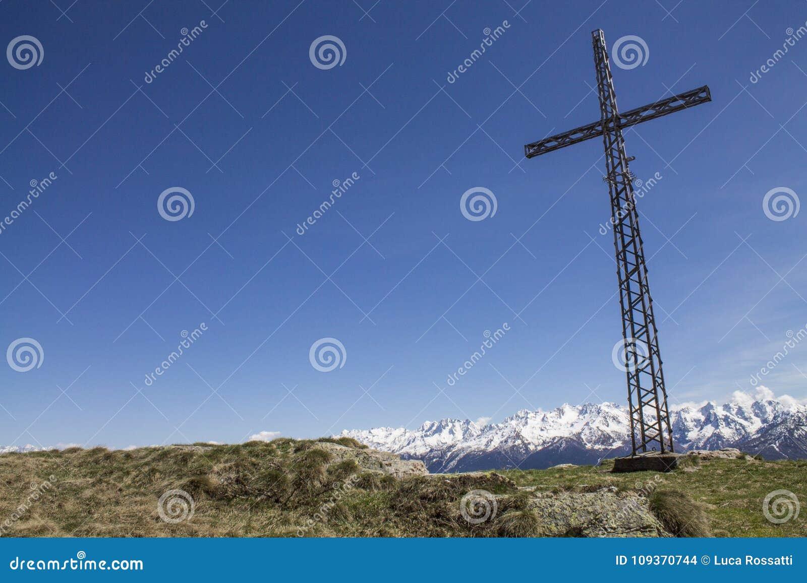 Rood da paisagem em uma montanha