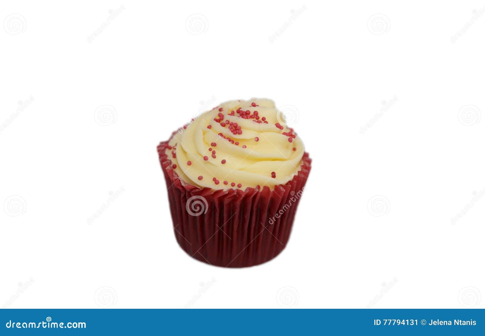 Rood Fluweel Cupcake
