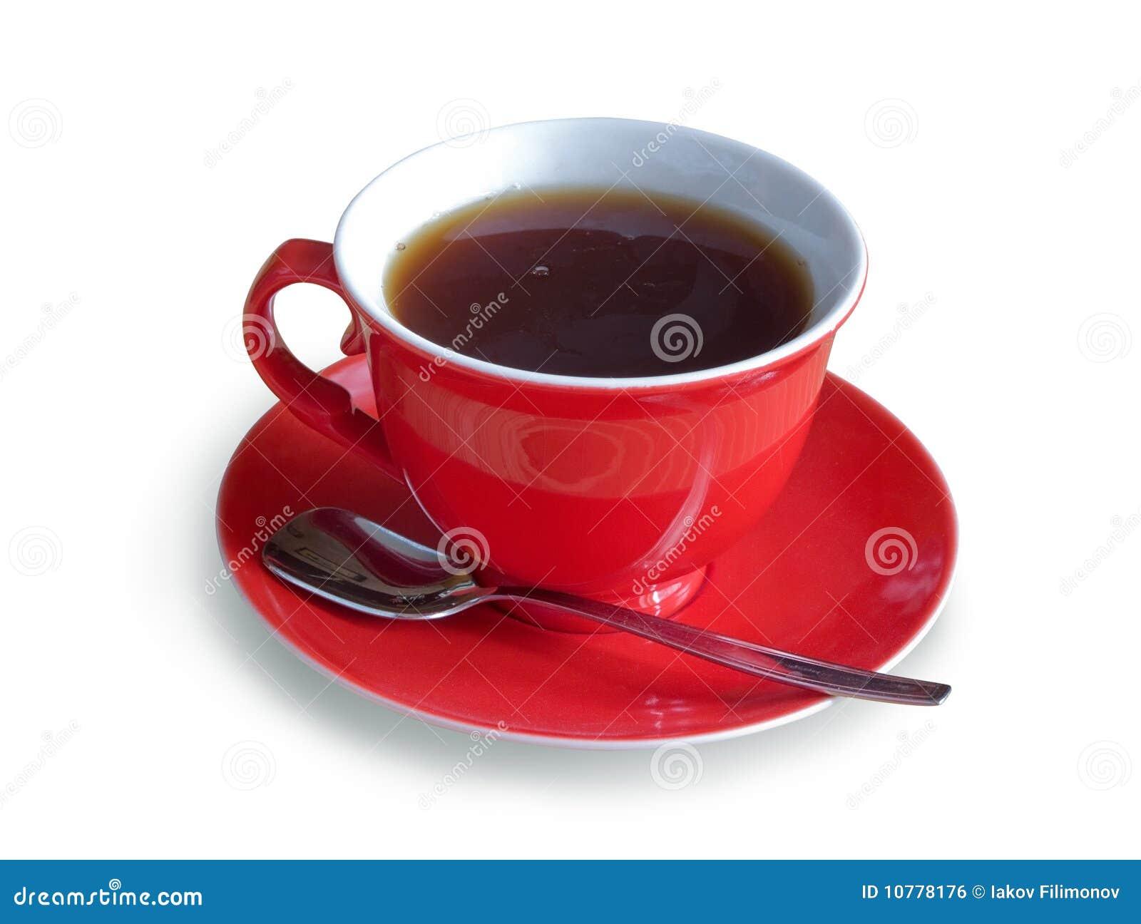 Rood GLB van thee