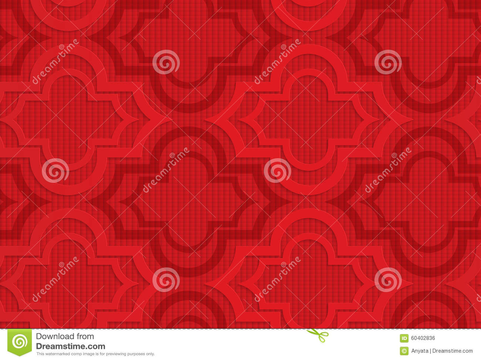 Rood Marrakech op geruite achtergrond