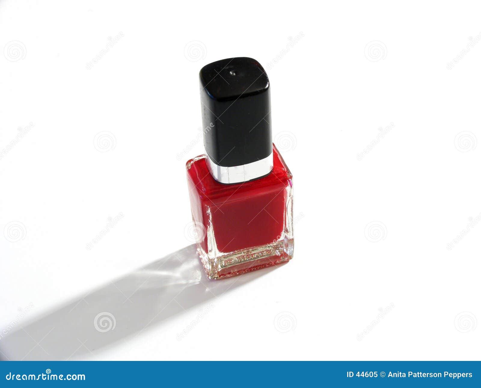 Download Rood nagellak stock afbeelding. Afbeelding bestaande uit verf - 44605