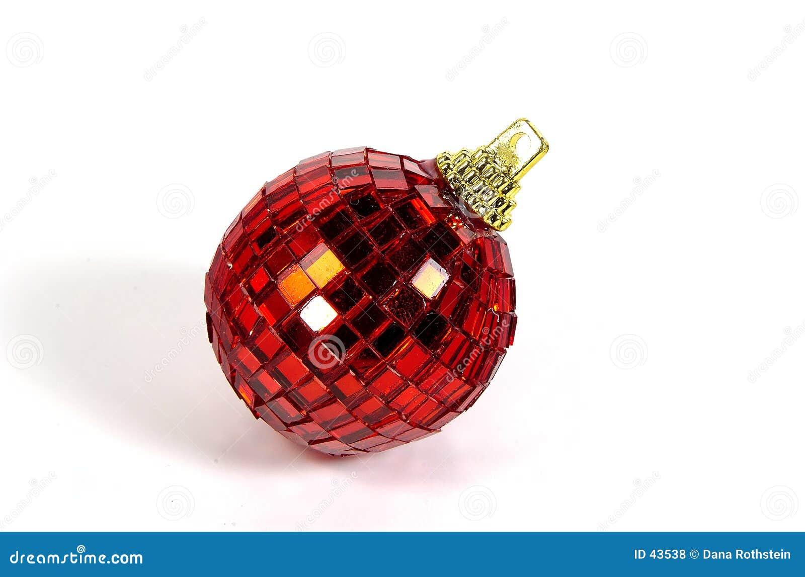 Download Rood Ornament stock foto. Afbeelding bestaande uit ornament - 43538