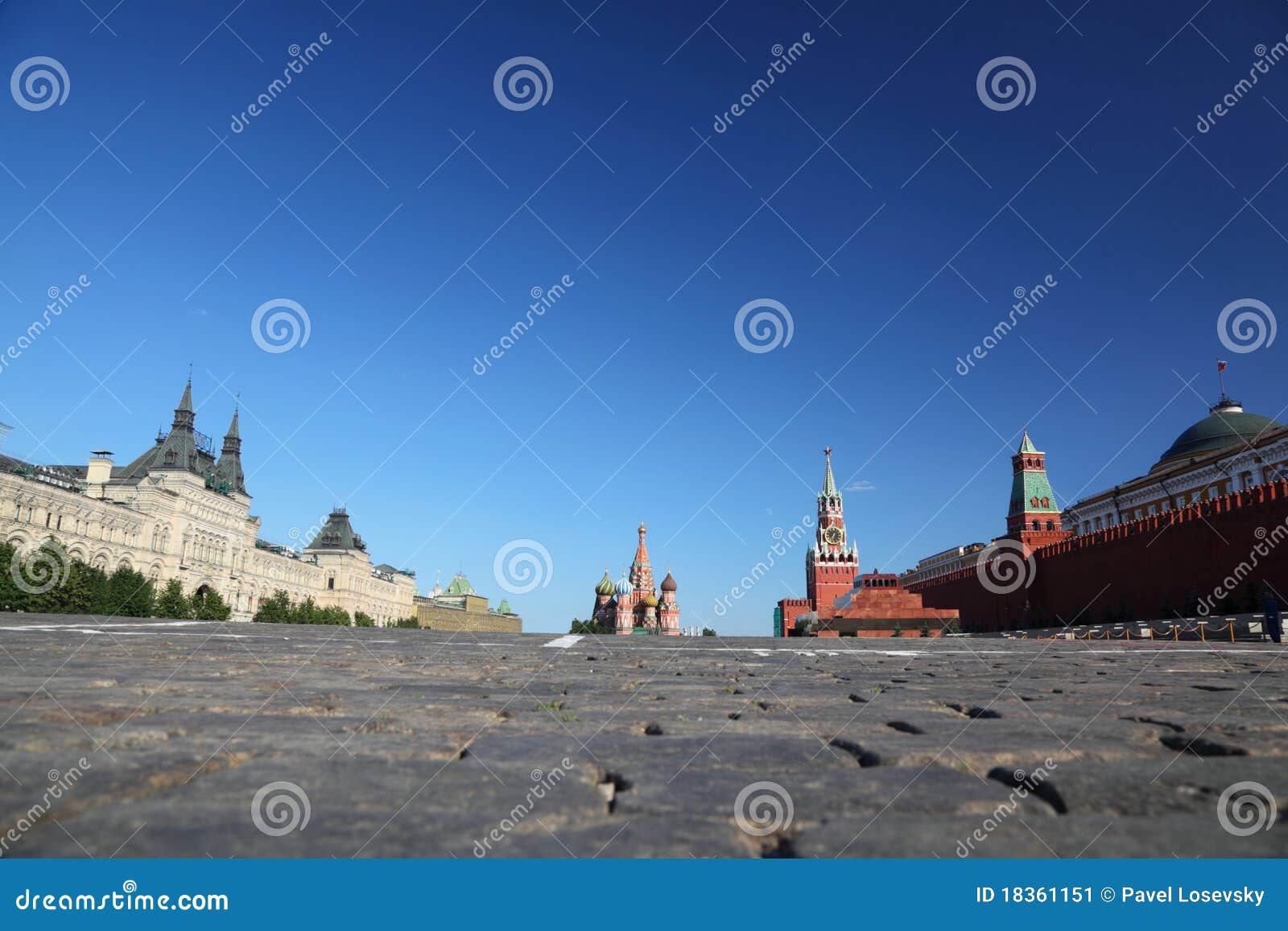 Rood Vierkant in Moskou