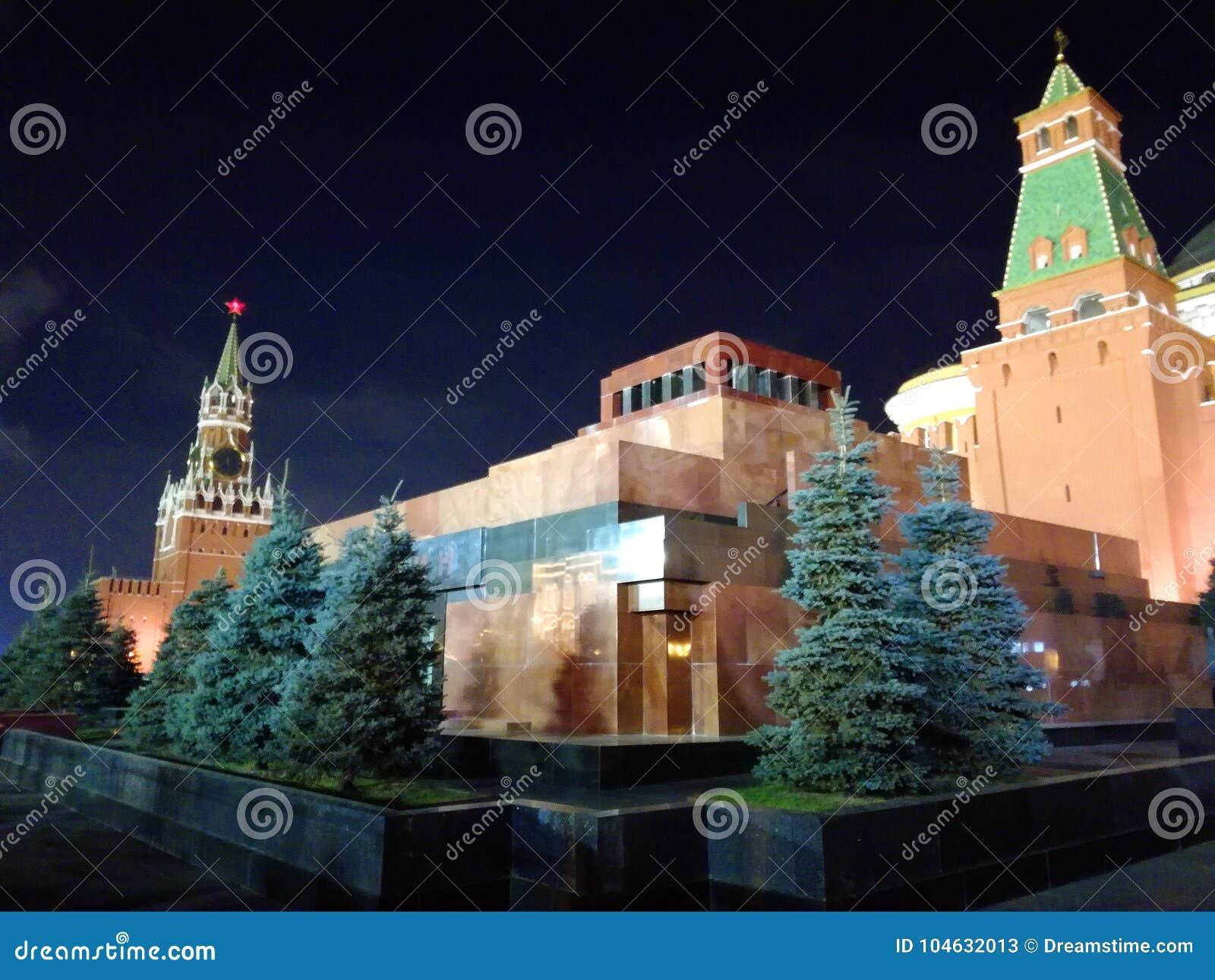 Download Rood Vierkant, Moskou, Rusland Redactionele Stock Foto - Afbeelding bestaande uit stad, mausoleum: 104632013