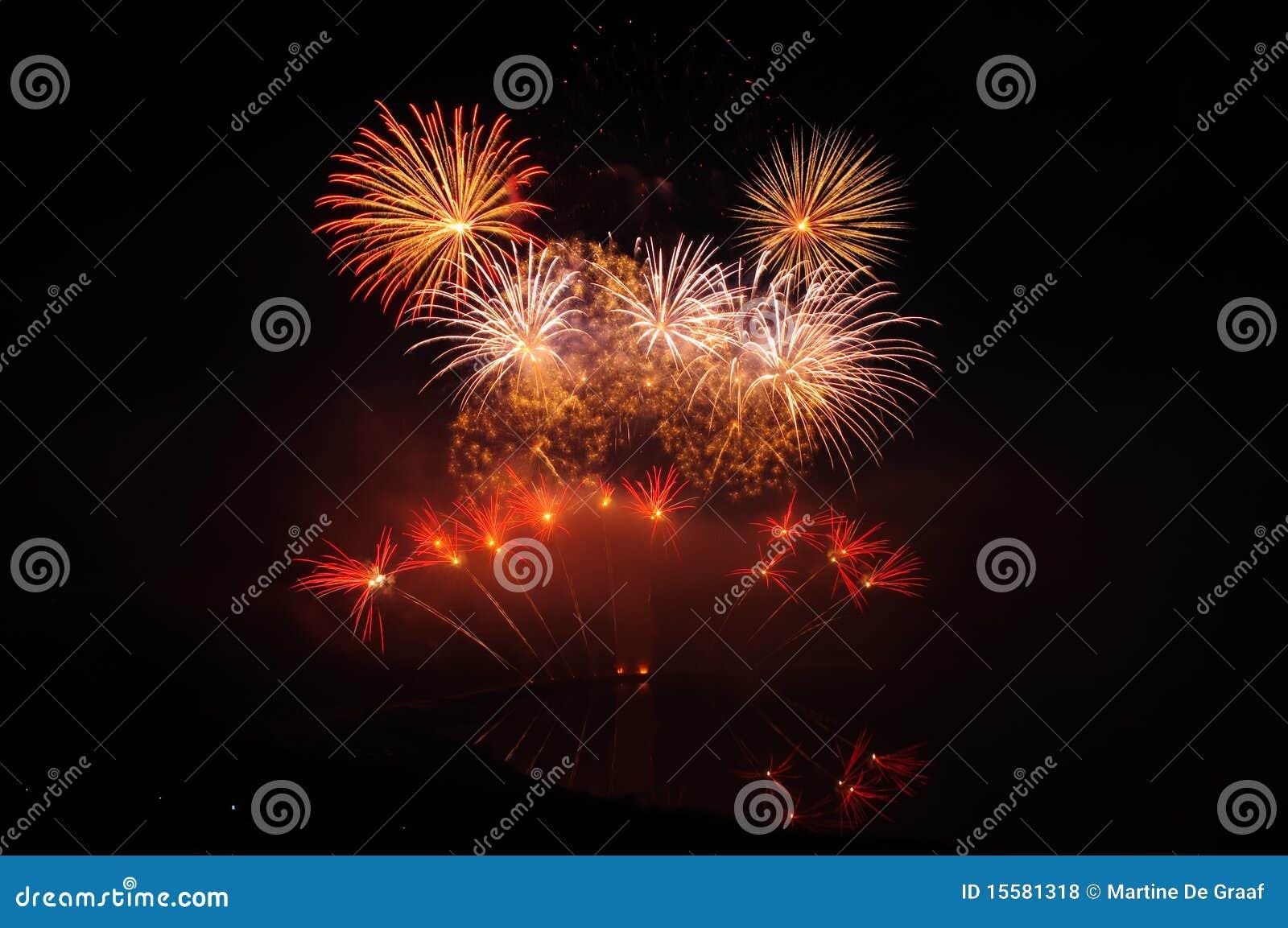 Rood Vuurwerk