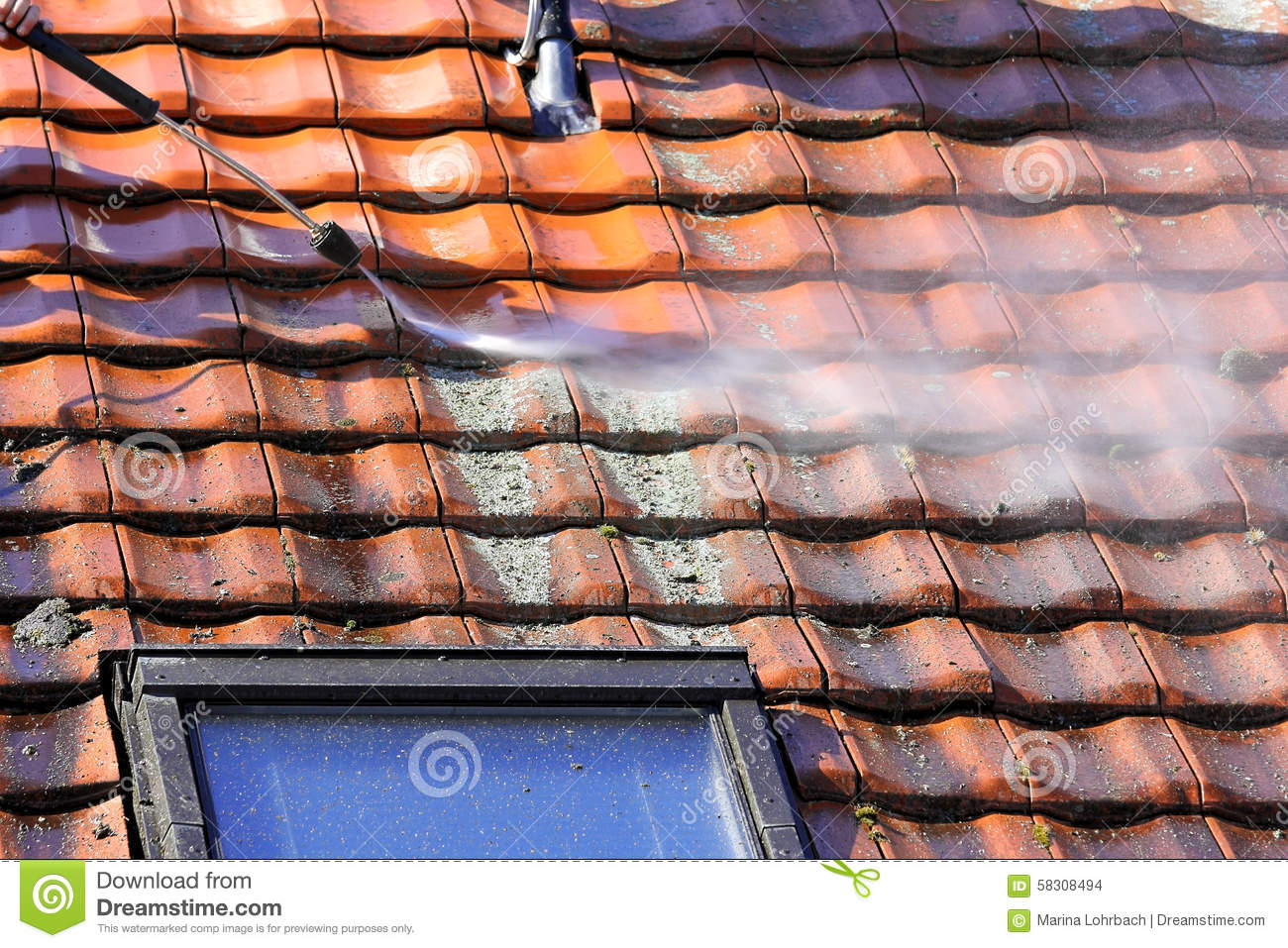 High Pressure Cleaning Stock Image Cartoondealer Com