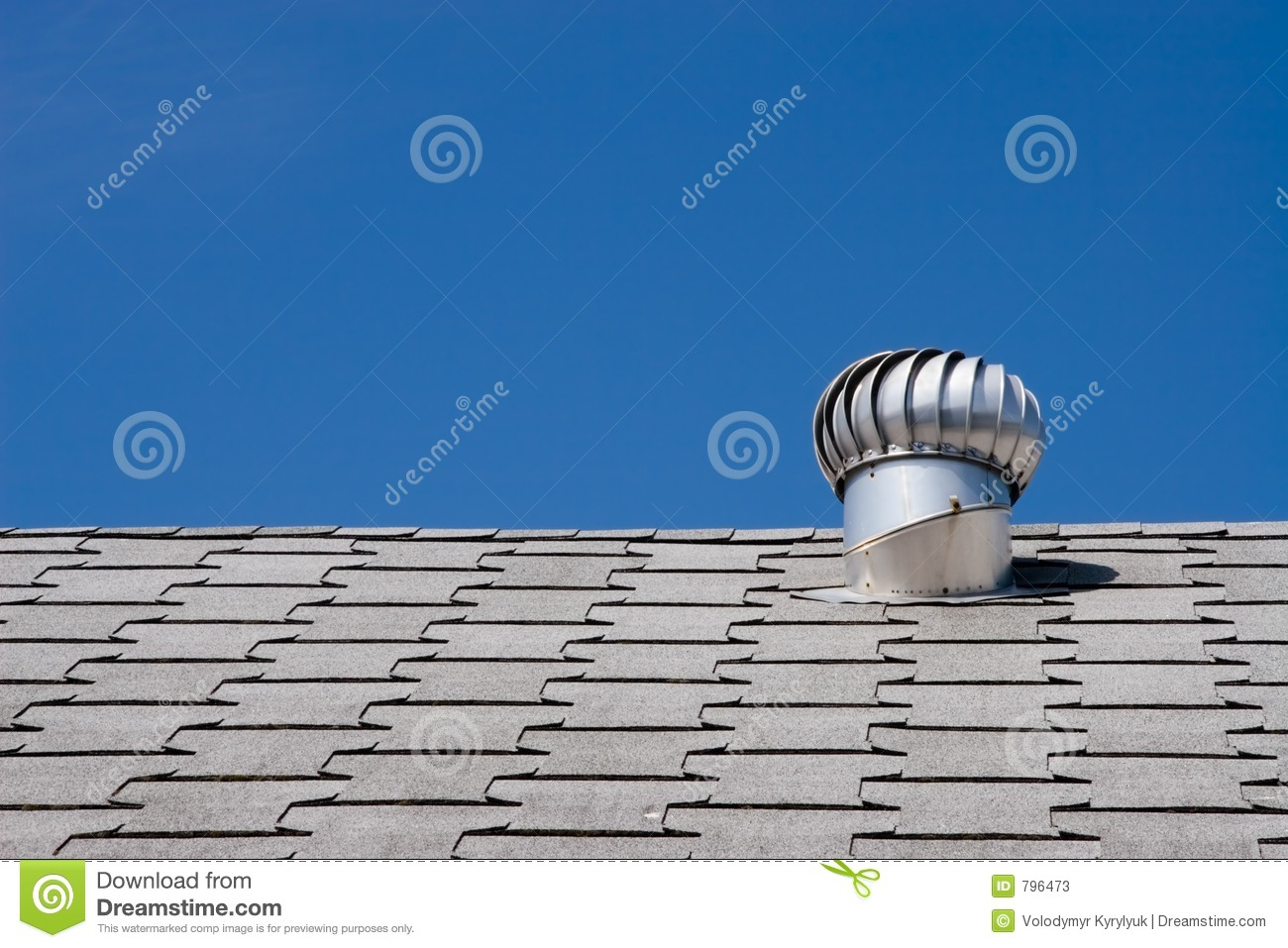 Roof of a commercial building