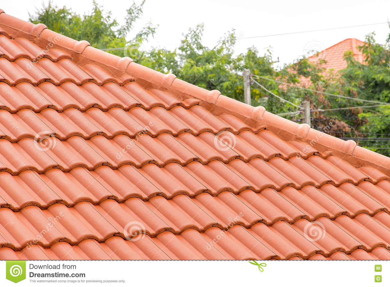 Roof Concrete Stock Image Image Of Industry Element 75046191