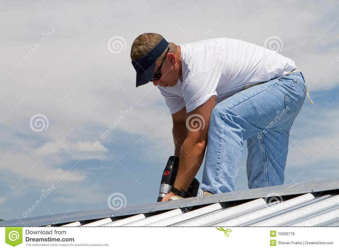 Roof Construction Worker