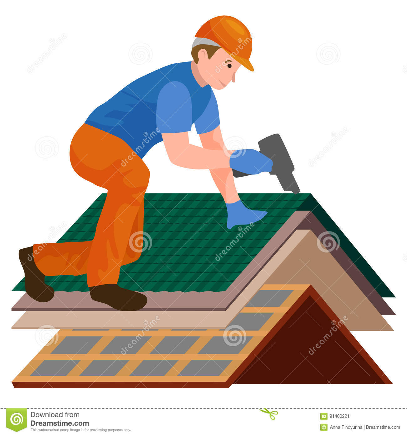 Image result for rooftop worker picture