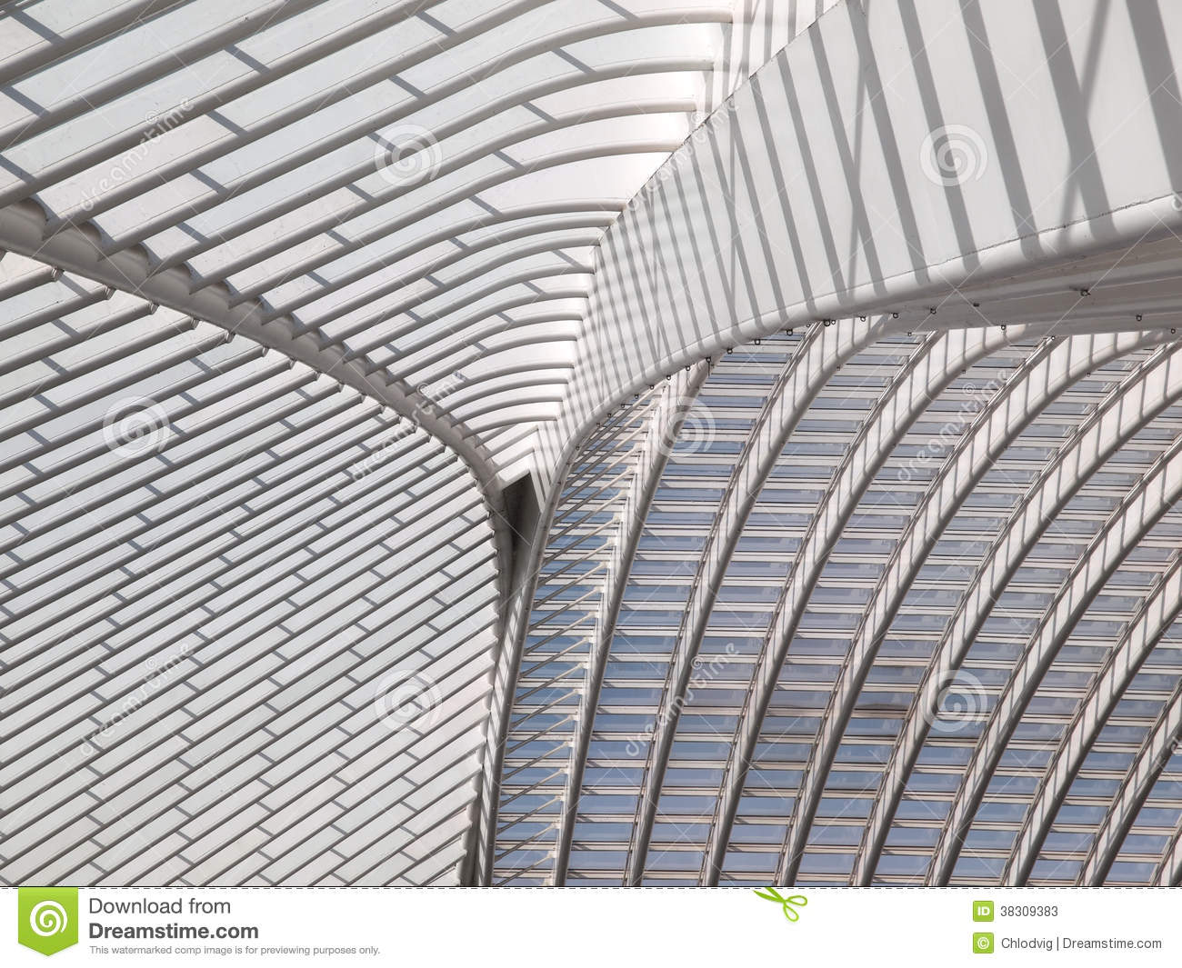 Roof Detail of Modern Architecture