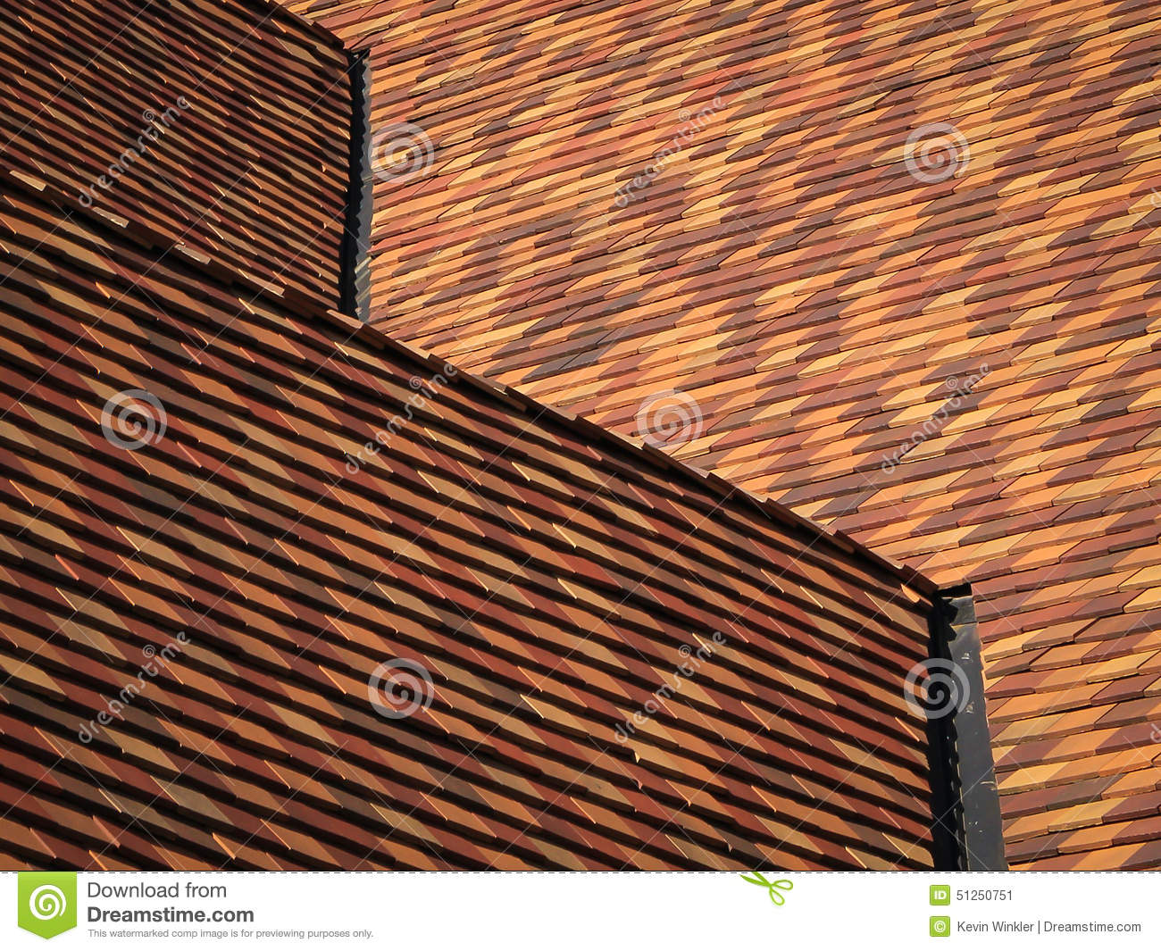 Roof Lines Stock Photo Image 51250751