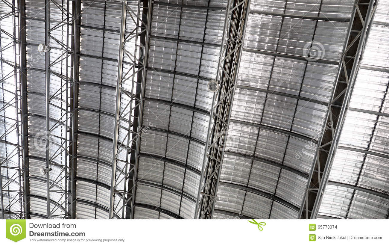 Roof Metal Sheet Cool Stock Photo Image 65773074