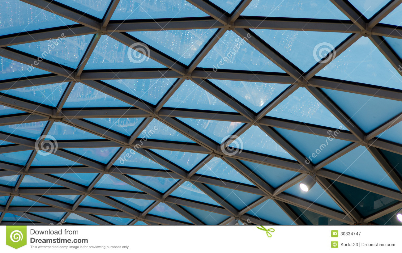 roof in office building royalty free stock photography image