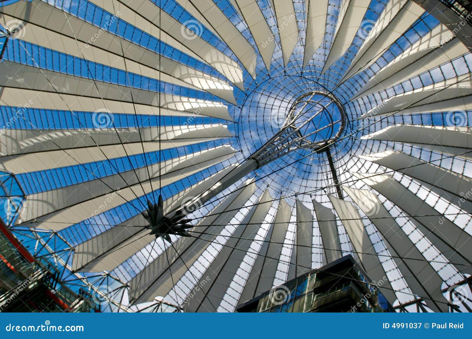 Roof at Potsdamer Platz