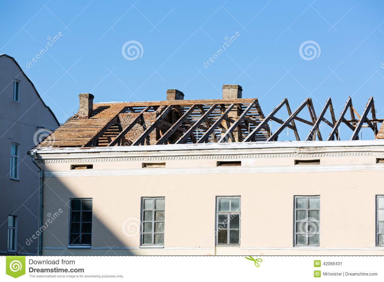 Roof reconctruction
