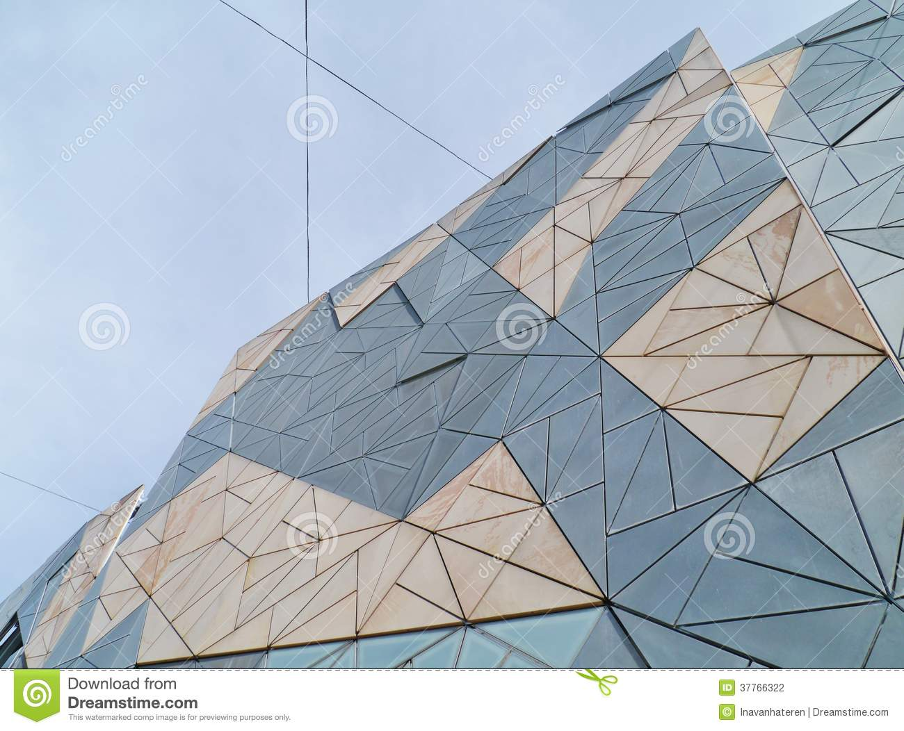 A roof shaped of sandstone on fed square